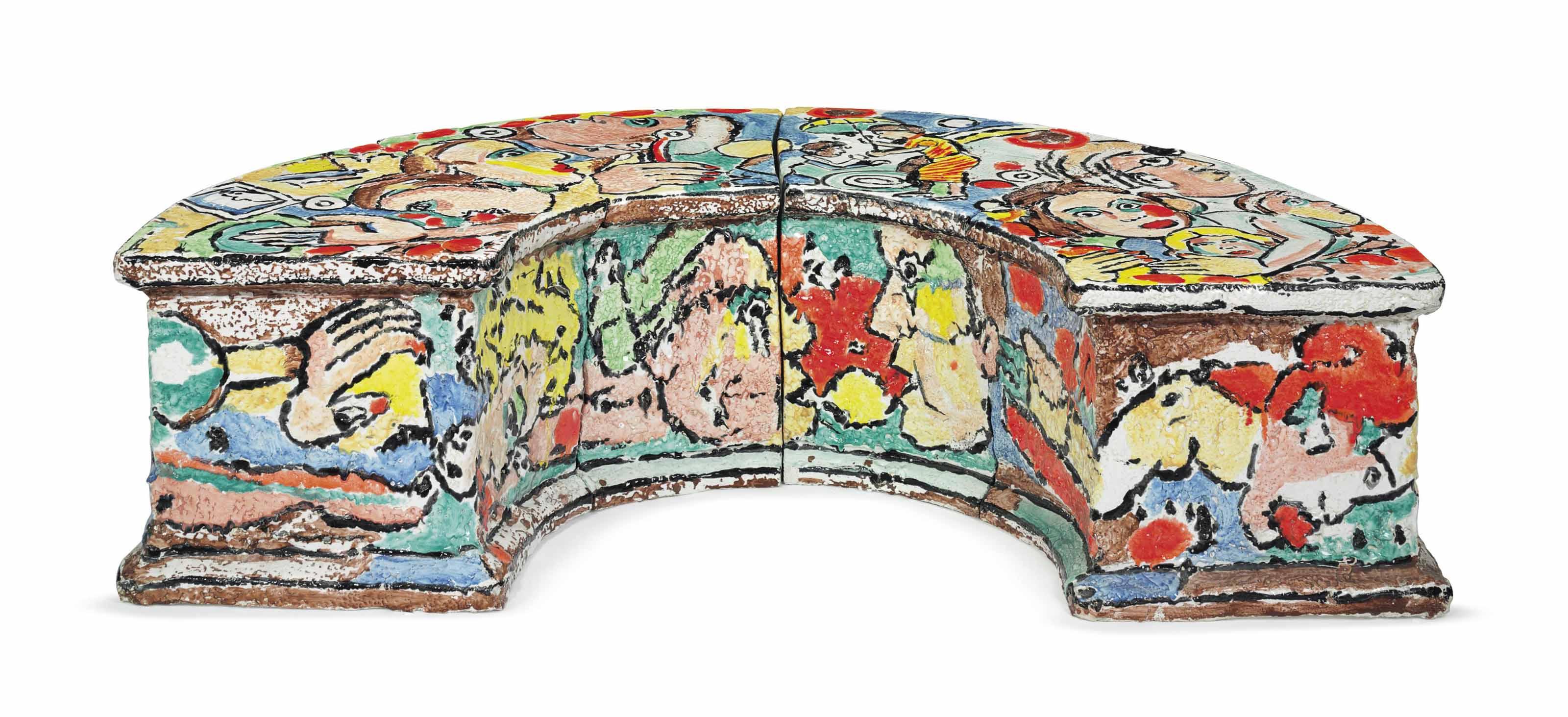 Untitled Bench (Half)