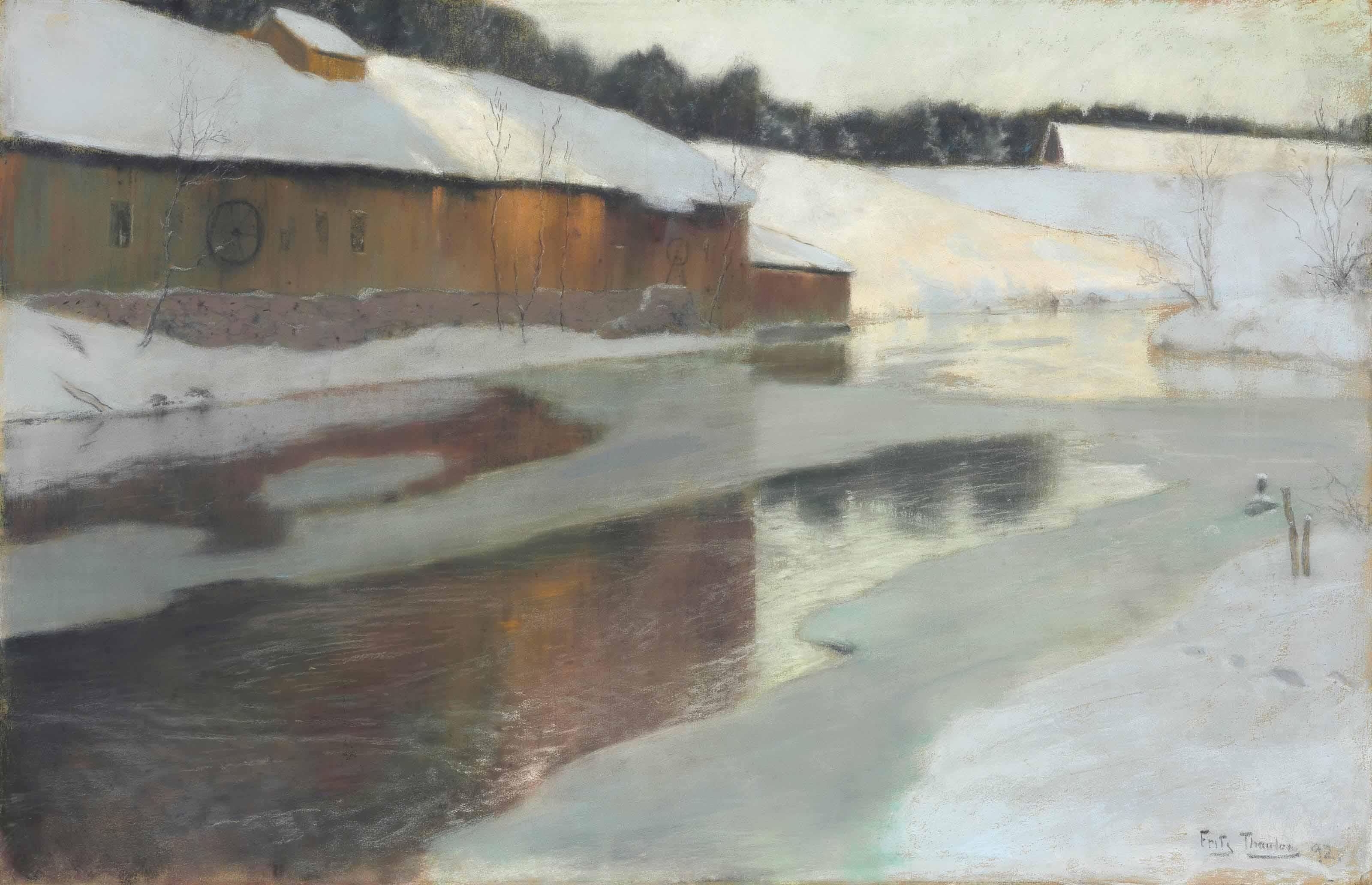 Winter Scene, Lysaker