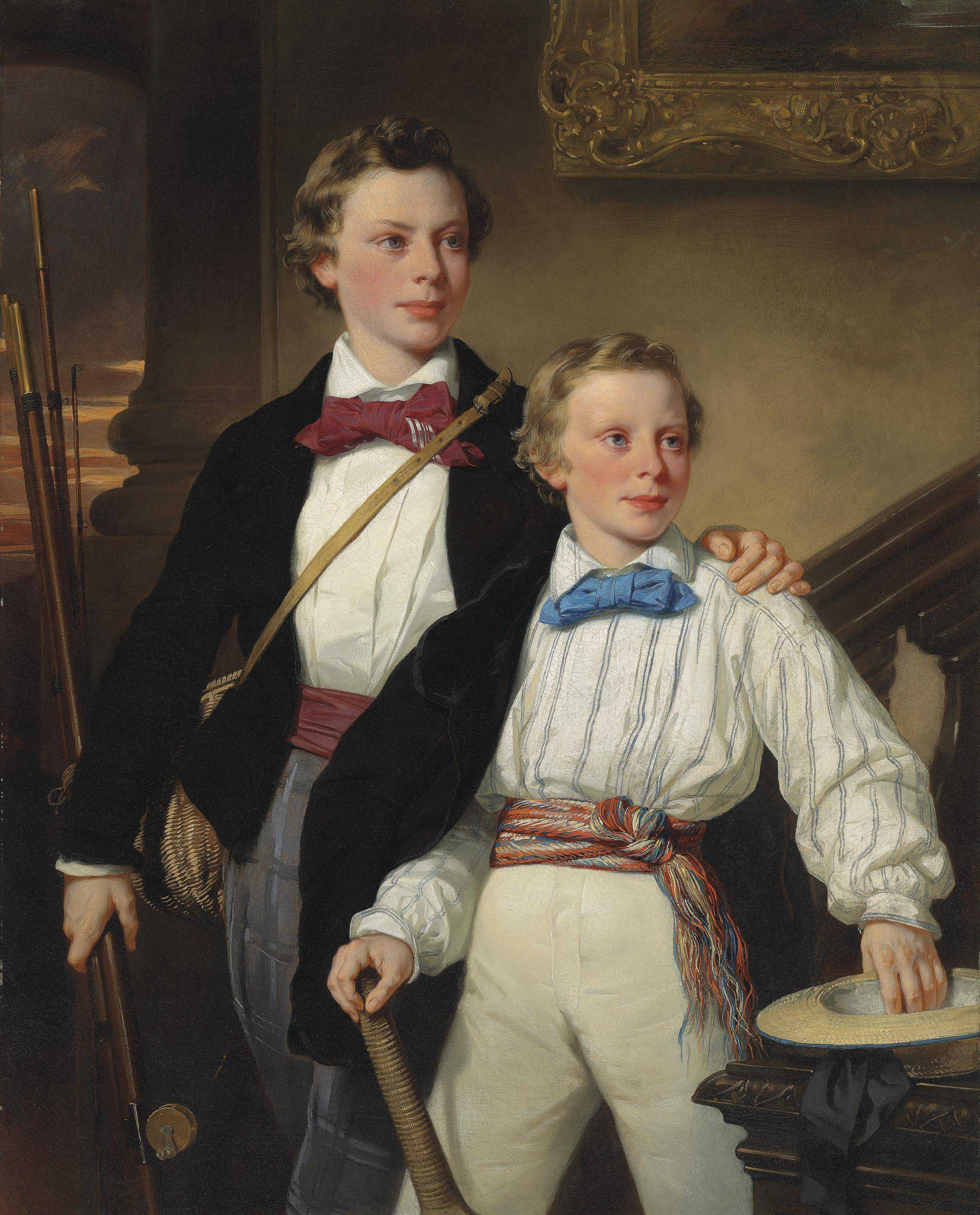 The Reluctant Scholars- Portraits of Mr. G. Barber's Sons