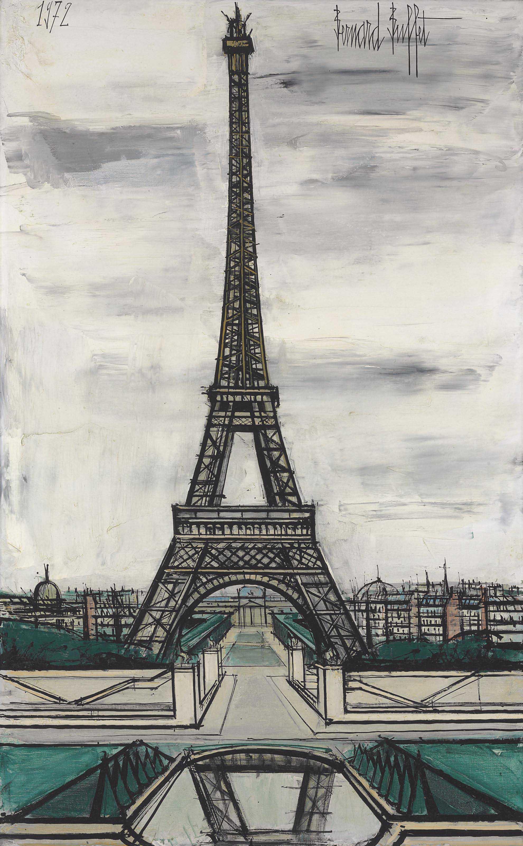 La Tour Eiffel, vue du Trocadéro