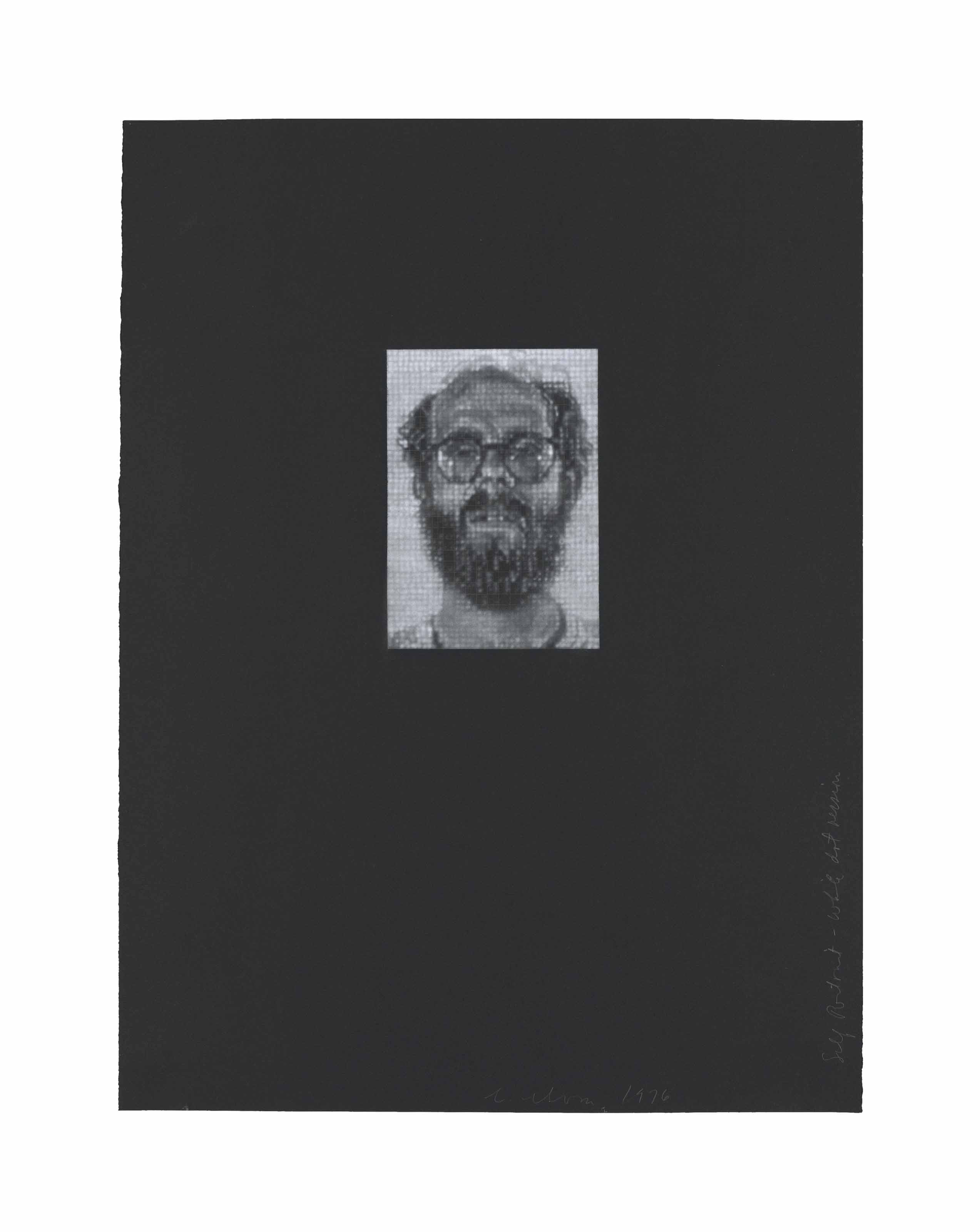Self-Portrait/White Dot Version