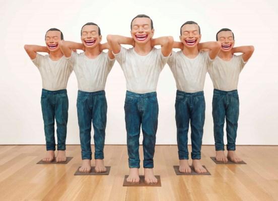 Yue Minjun (b. 1962)