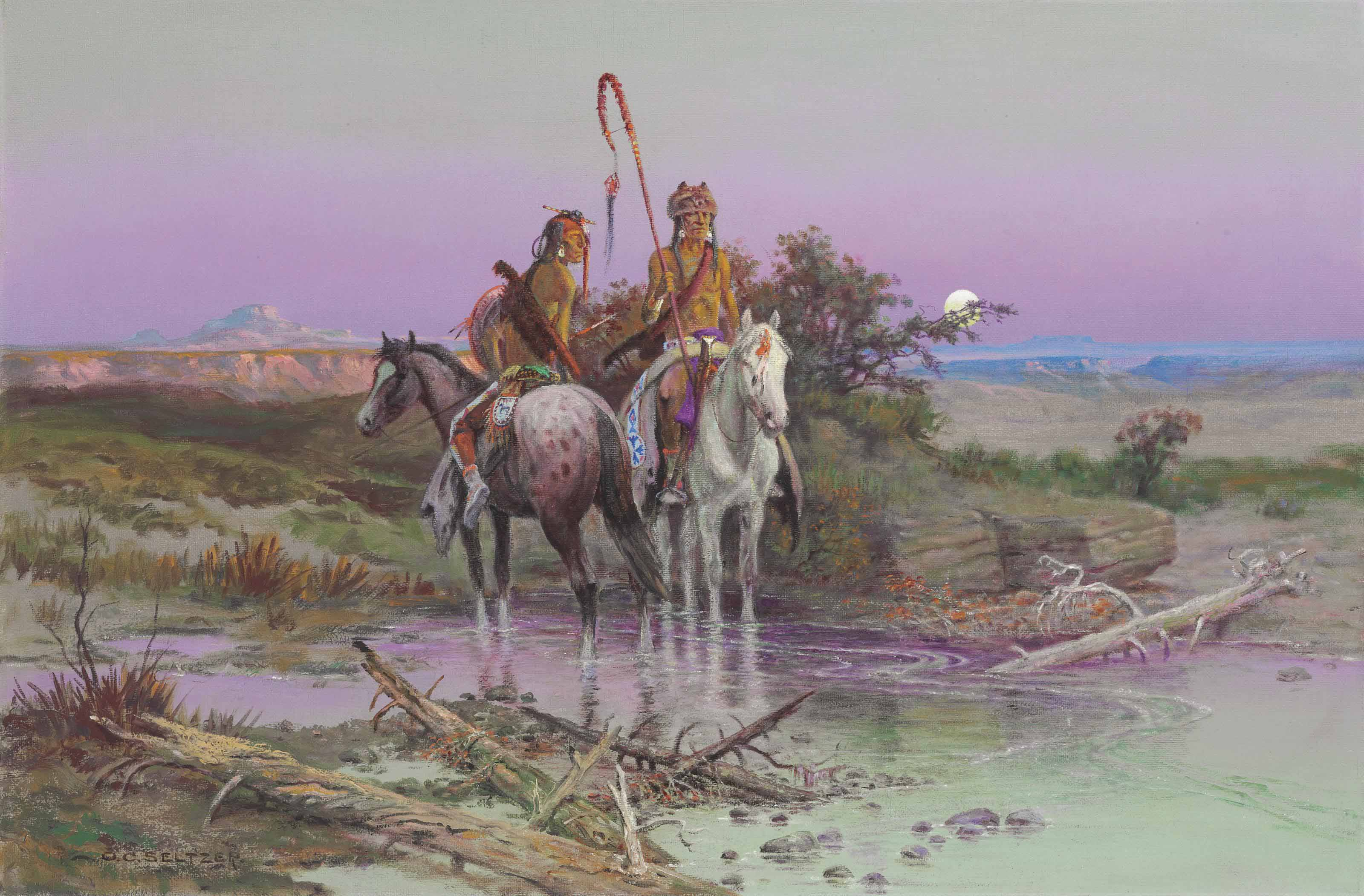 Blackfeet Warriors (Piegans)