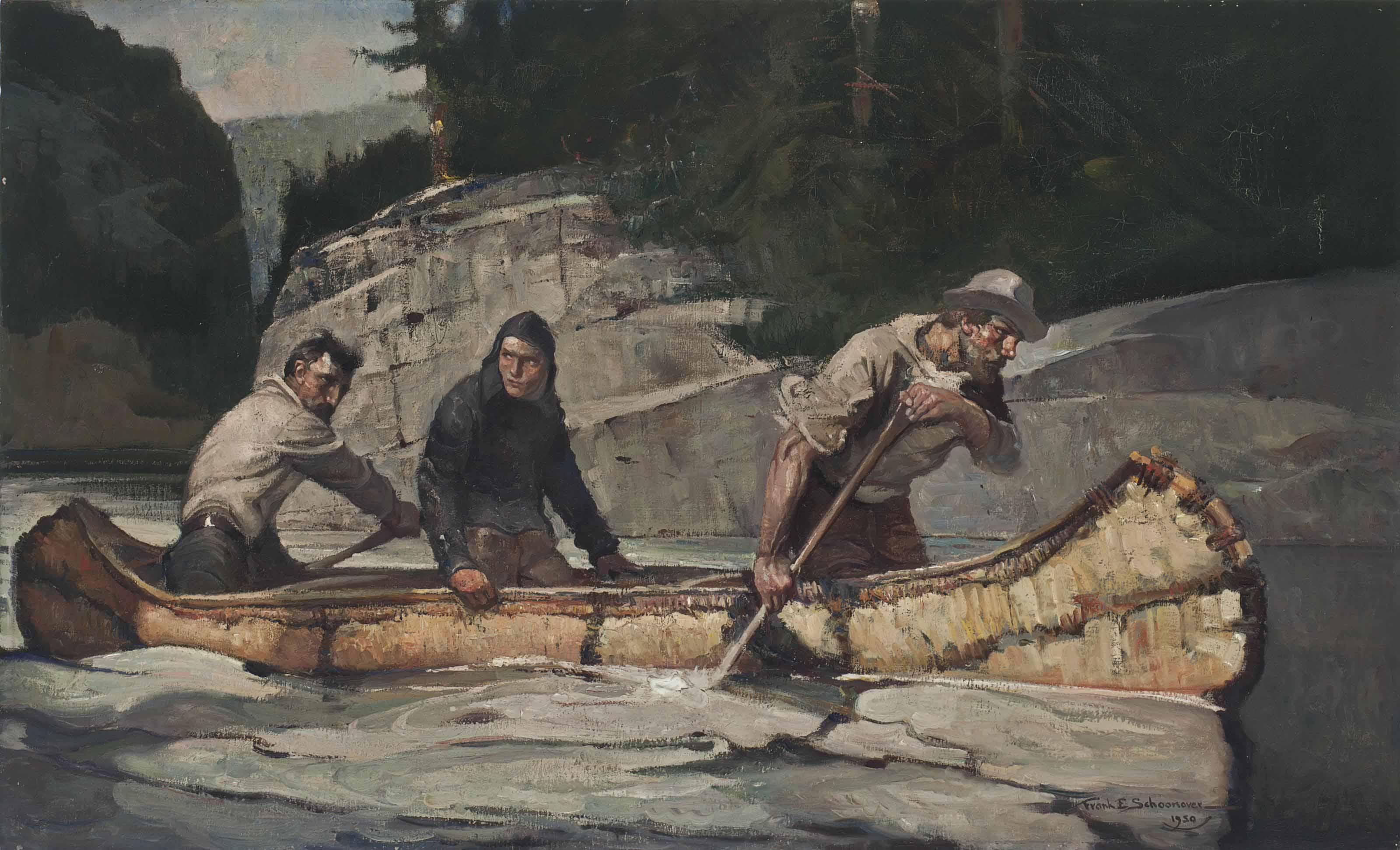"""""""As the Canoe Swept By..."""""""