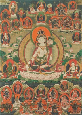 A Painting of White Tara