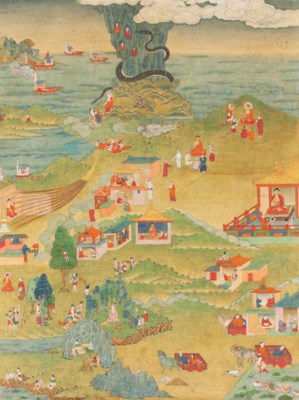 A painting from an Avadana Kal