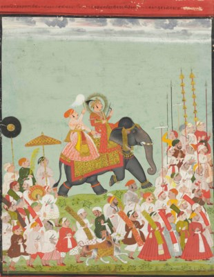A Portrait of Maharana Ari Sin