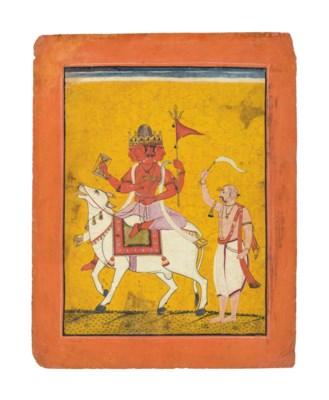 An illustration to a Ragamala