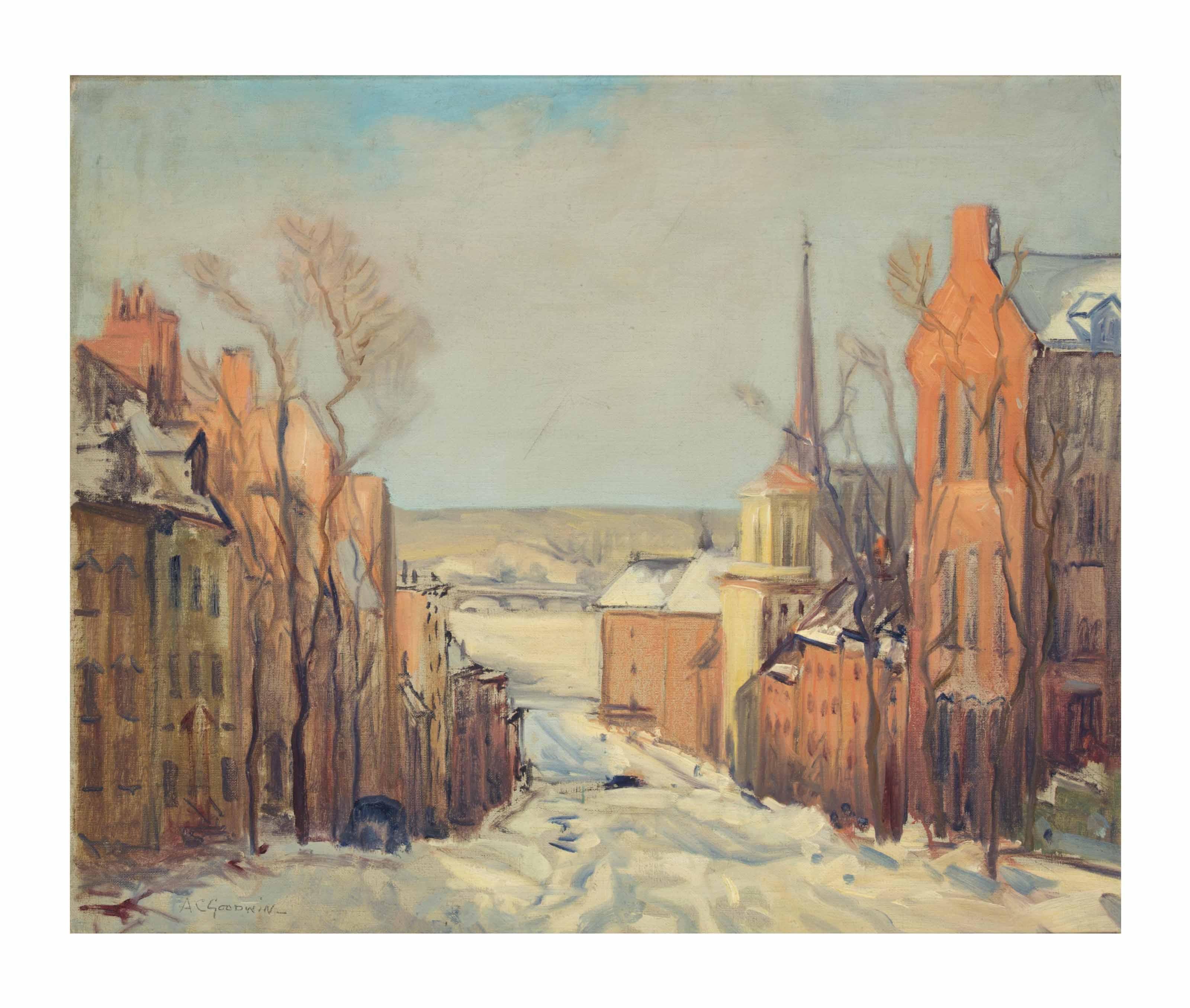 Joy Street, Beacon Hill, Boston