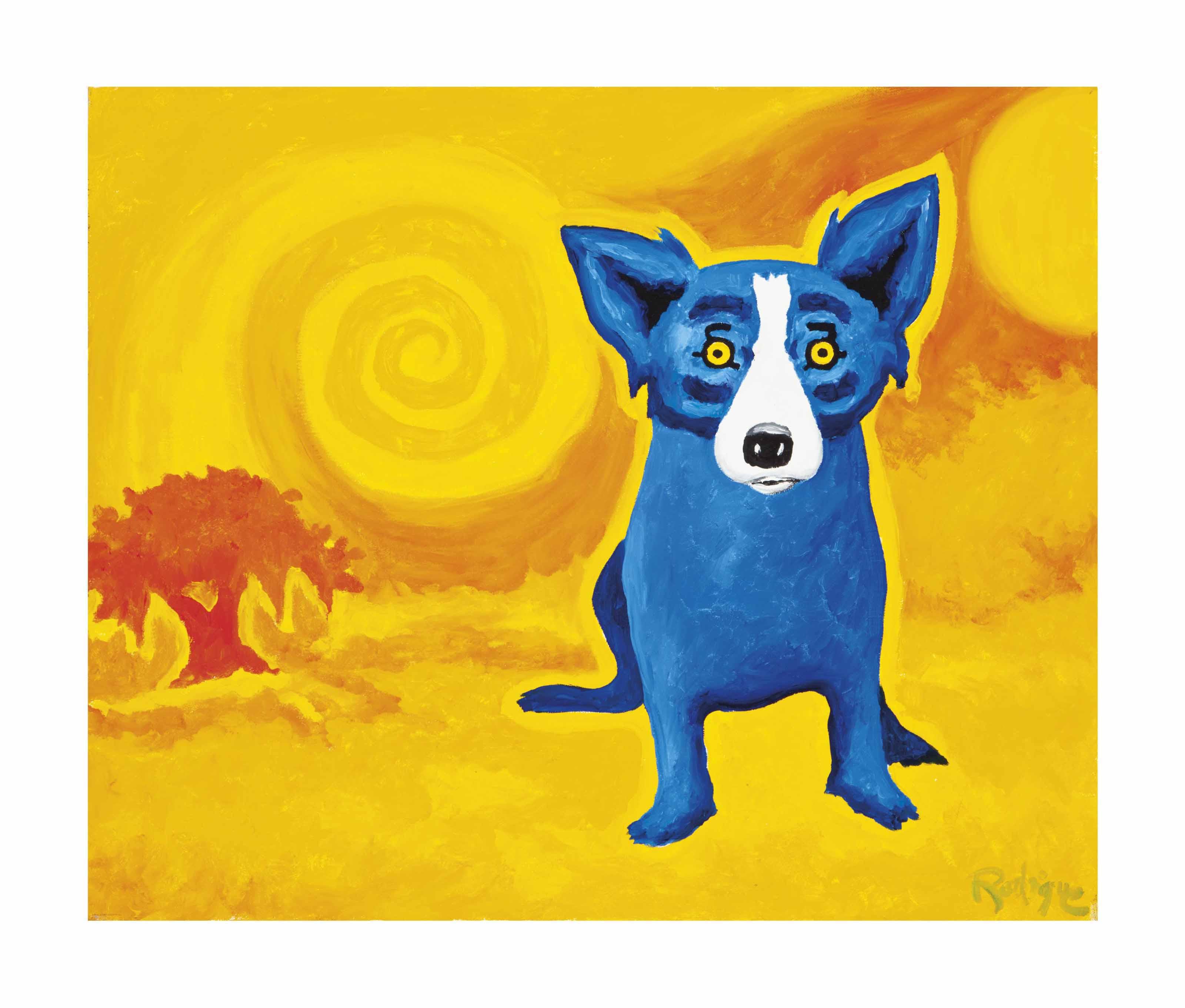 Blue Dog, Yellow Sun