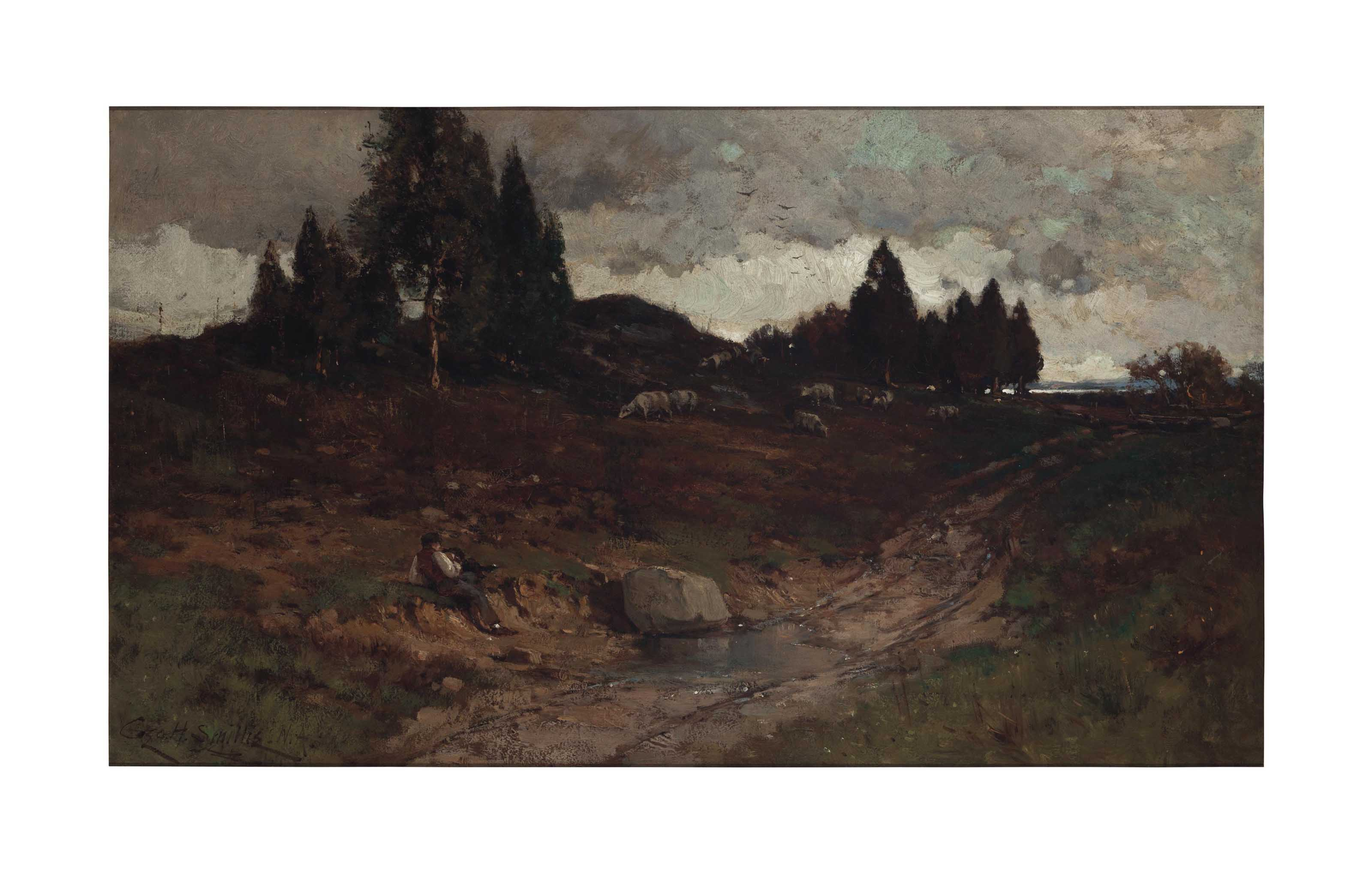 The Shepherd, Grey Autumn