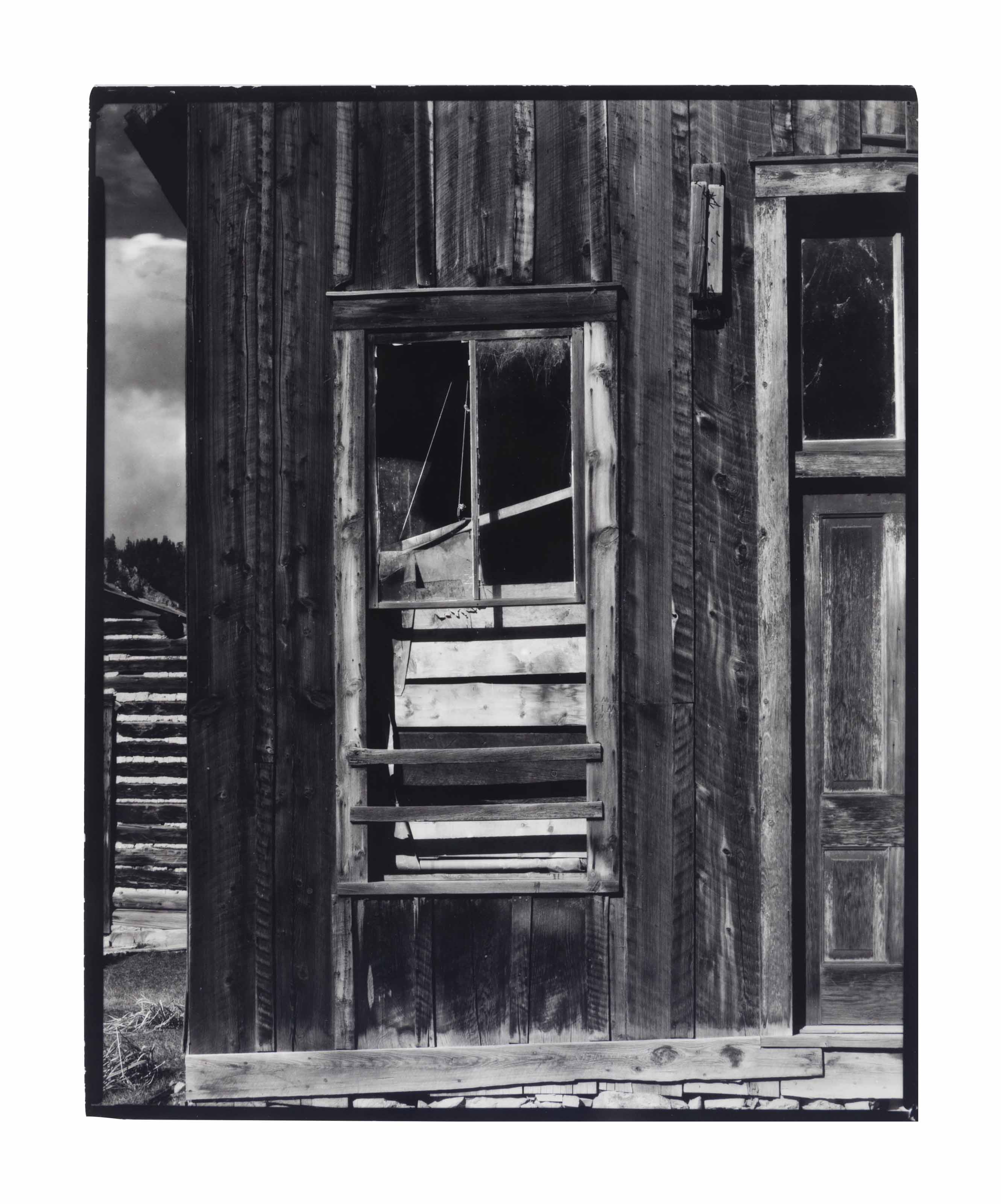 Ghost Town, Red River, New Mexico, 1930