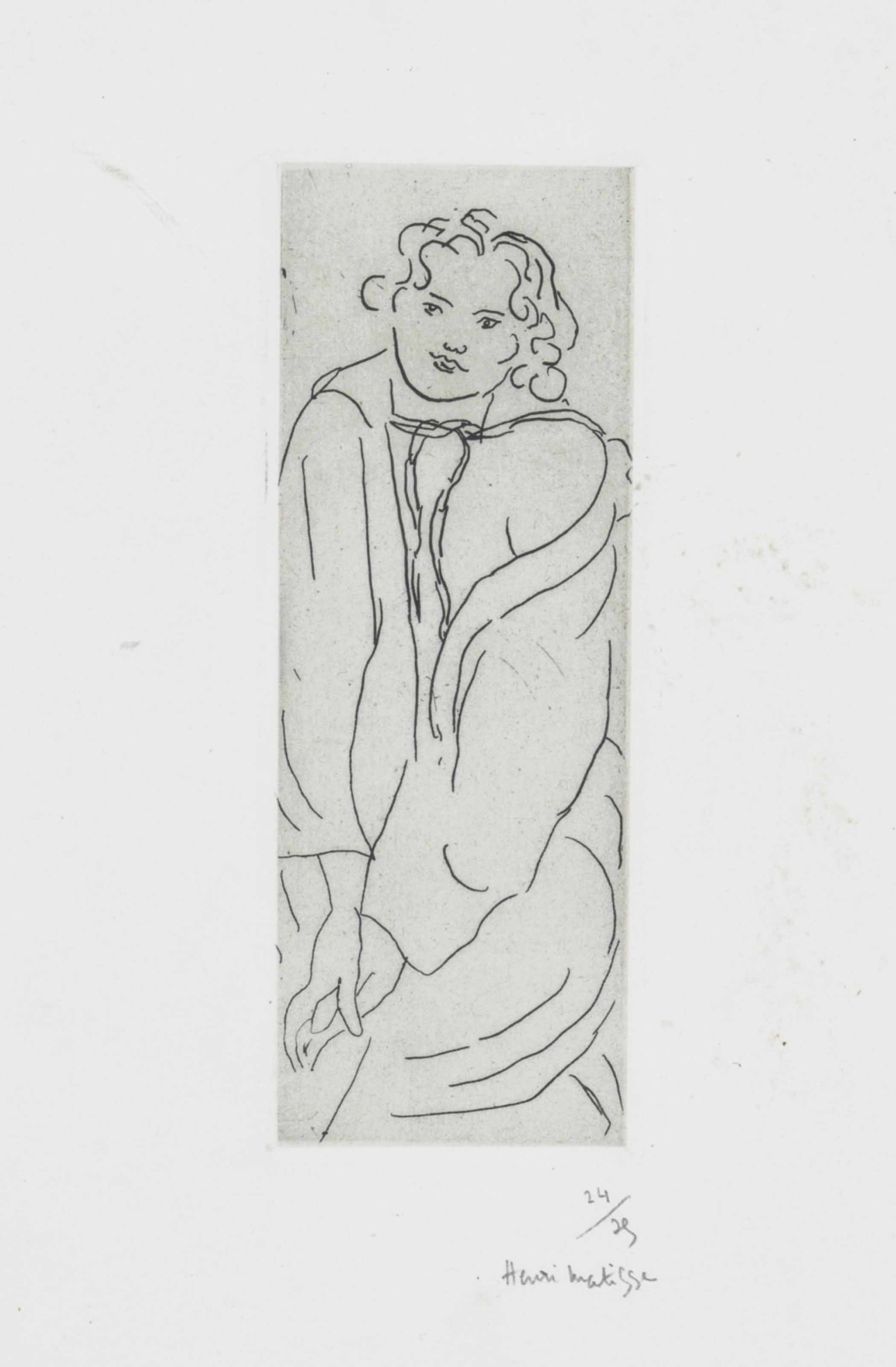 Figure au Peignoir