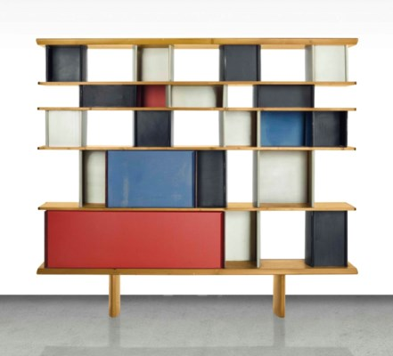 Charlotte perriand 1903 1999 a 39 mexique 39 bibliotheque designed circa 1952 christie 39 s - Bibliotheque perriand ...
