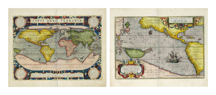 ORTELIUS, Abraham. Theatrum or