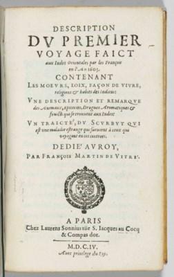 VITRÉ, François Martin de (fl.