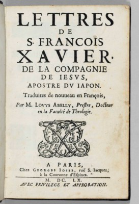 XAVIER, Francis, Saint (1506-1