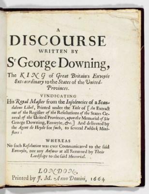 DOWNING, Sir George (1623?-168
