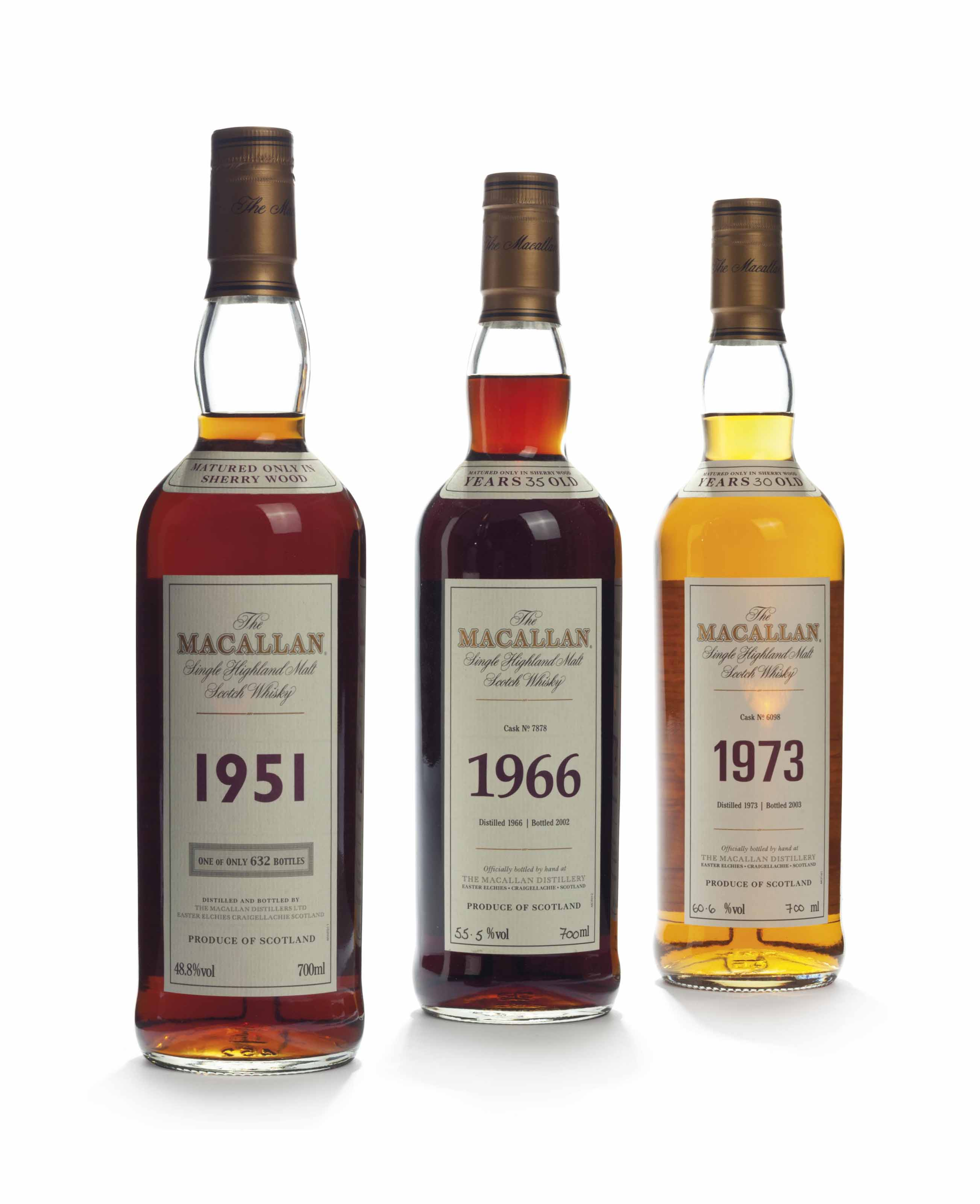 The Macallan, Fine and Rare Collection 35 Year Old 1966
