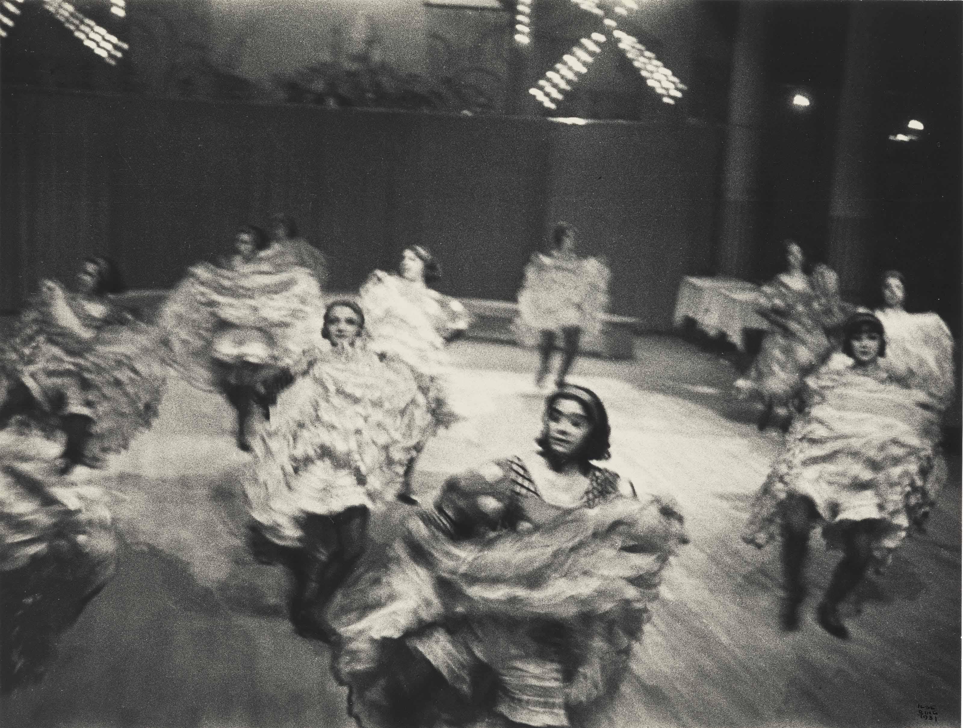 Cancan, Moulin Rouge, Paris, 1931