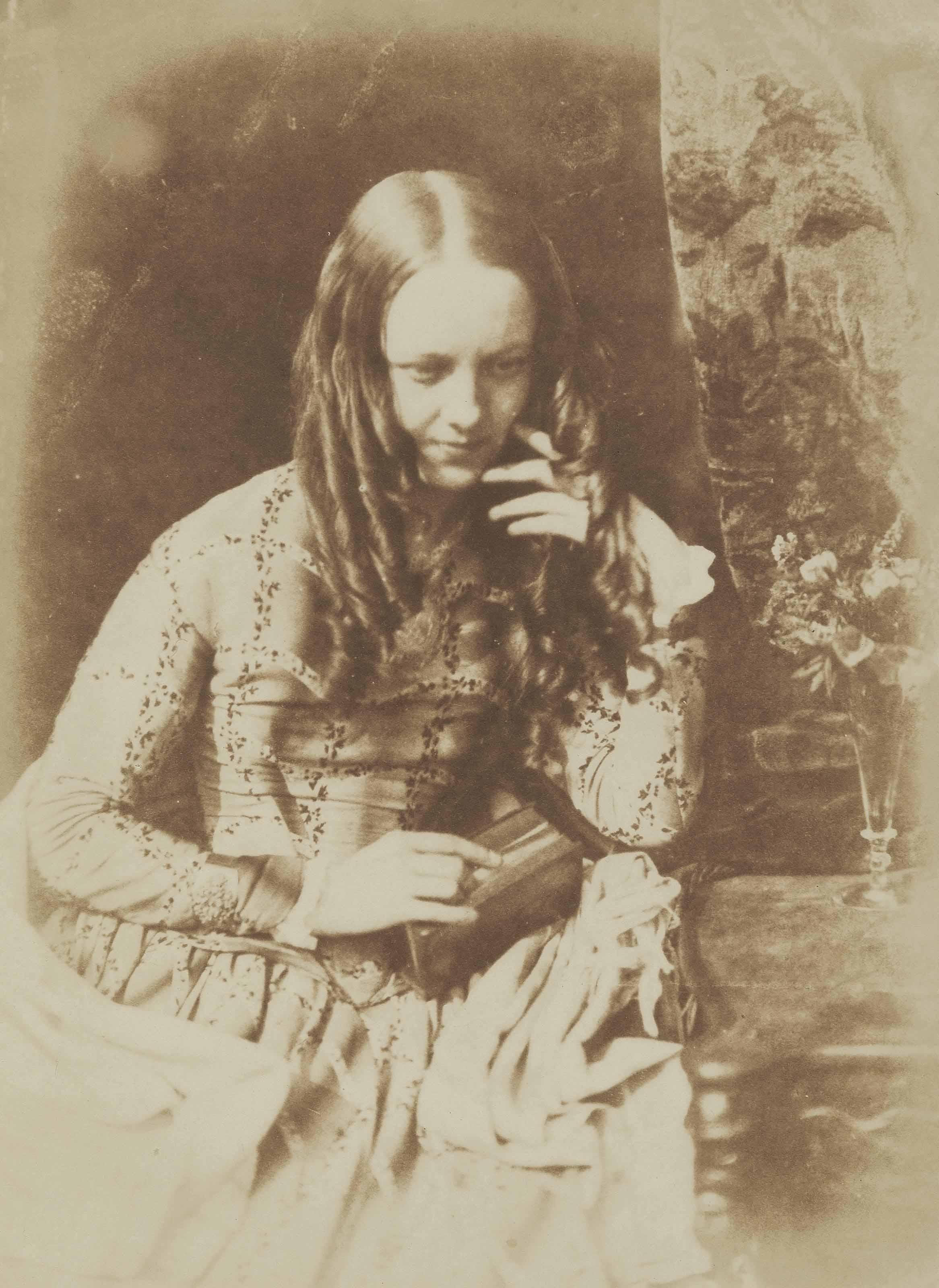 Miss Munro, daughter of Sheriff Munro, c. 1845
