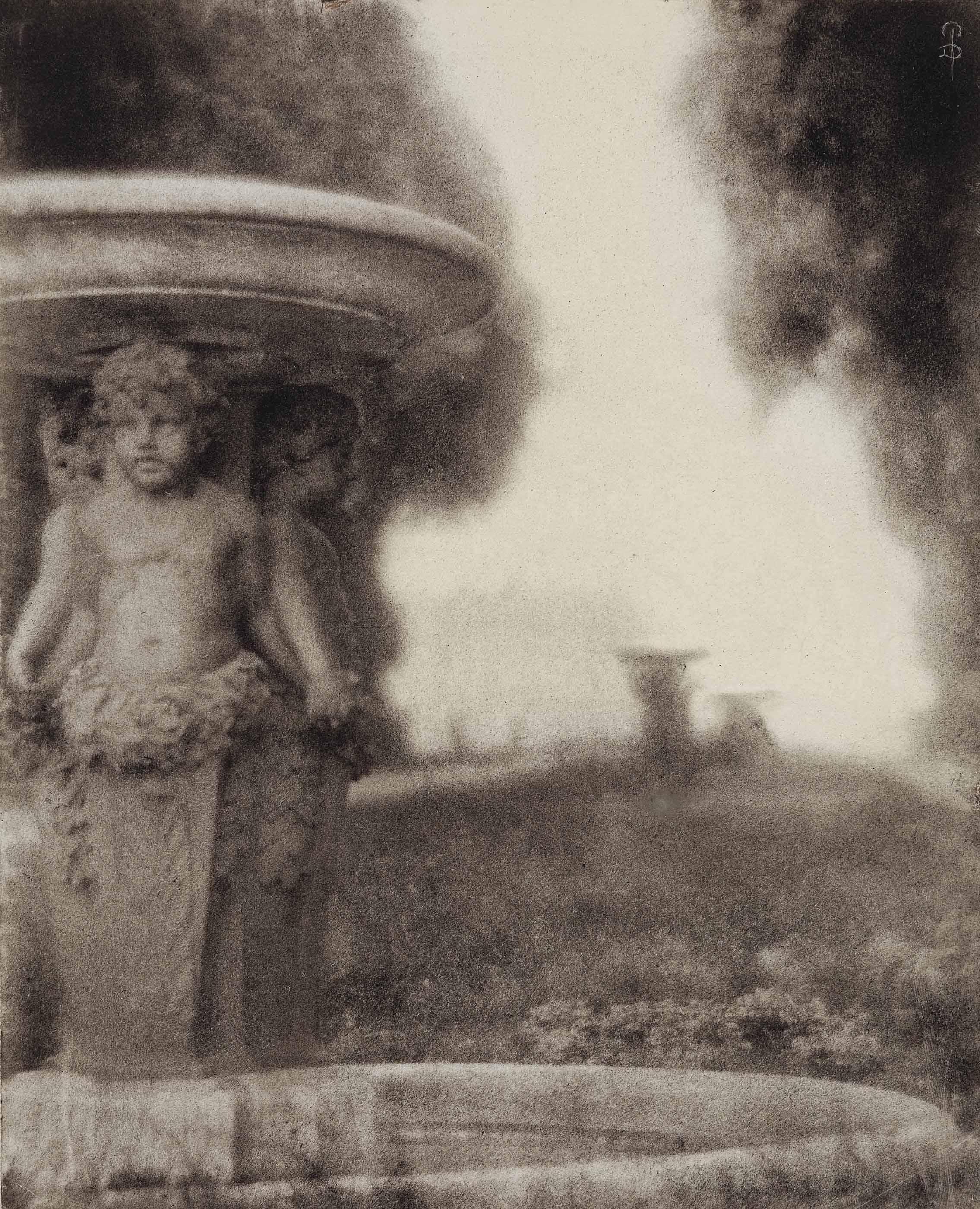 Versailles: Allée des Marmousets, 1910