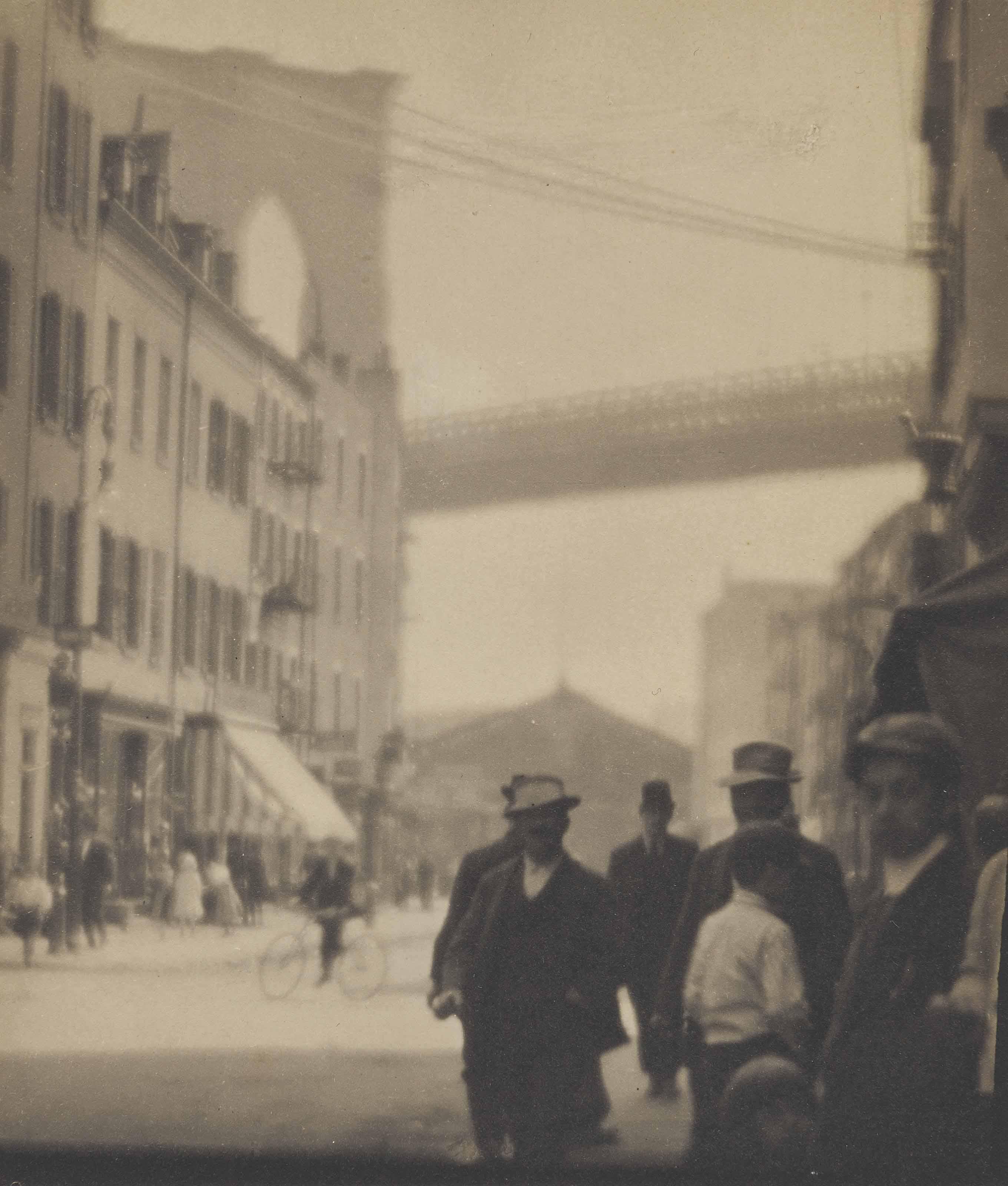 Lower East Side - To Brooklyn Bridge, 1912
