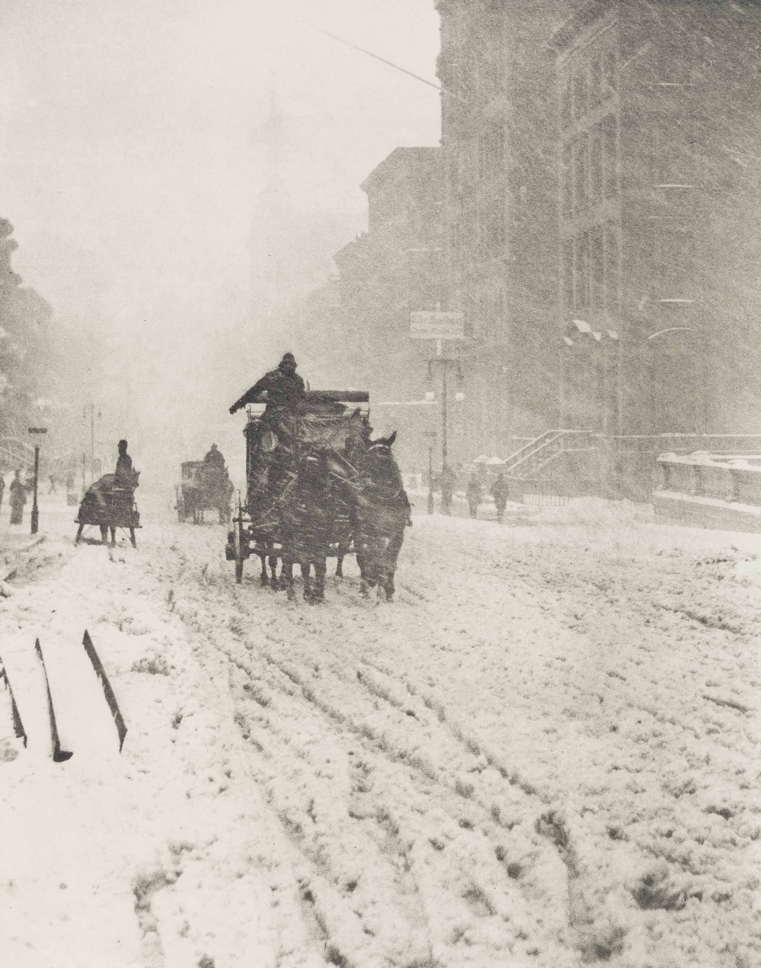 Winter - Fifth Avenue, 1893