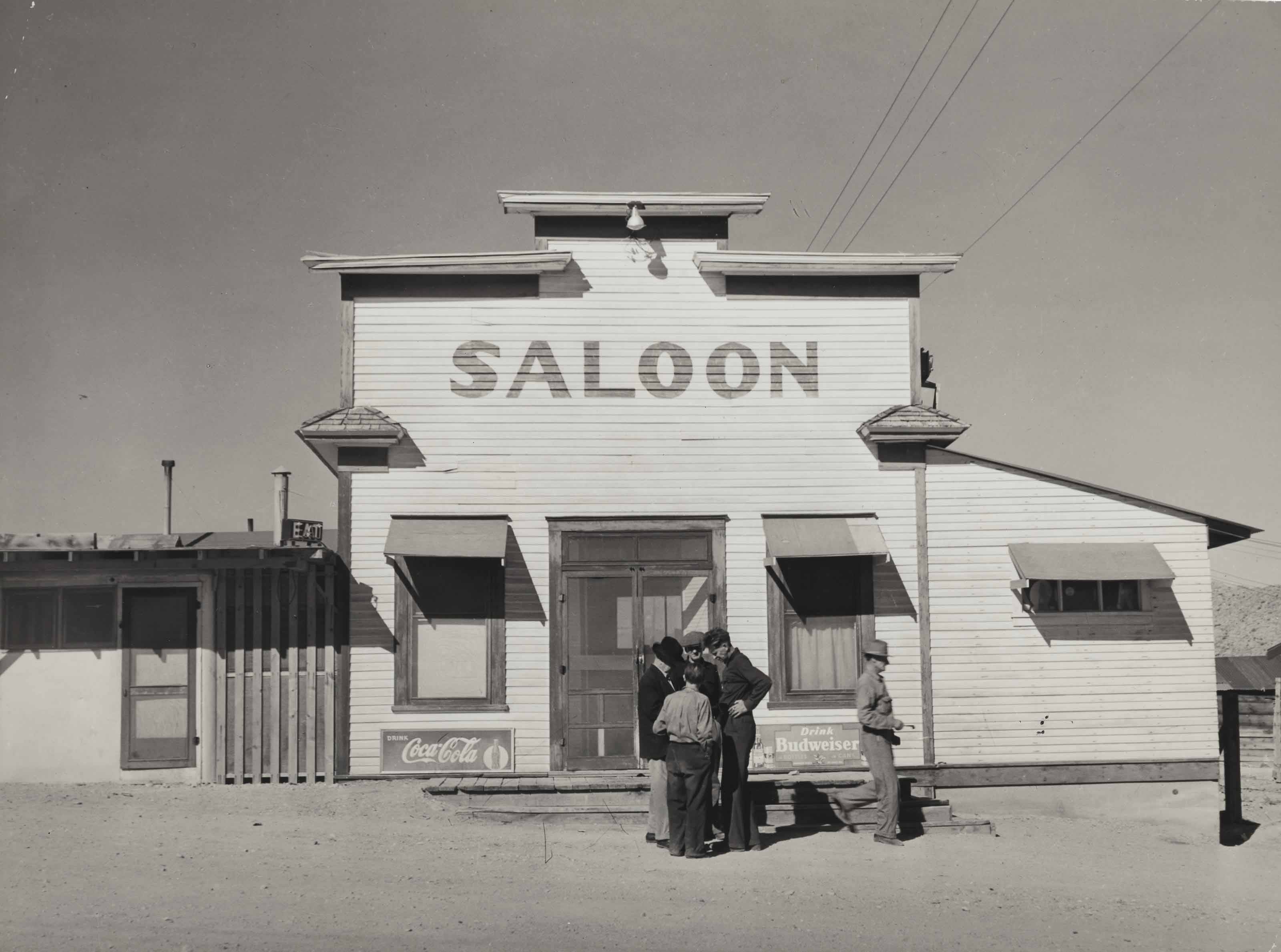 Saloon, Silver Peak, Nevada, March 1940