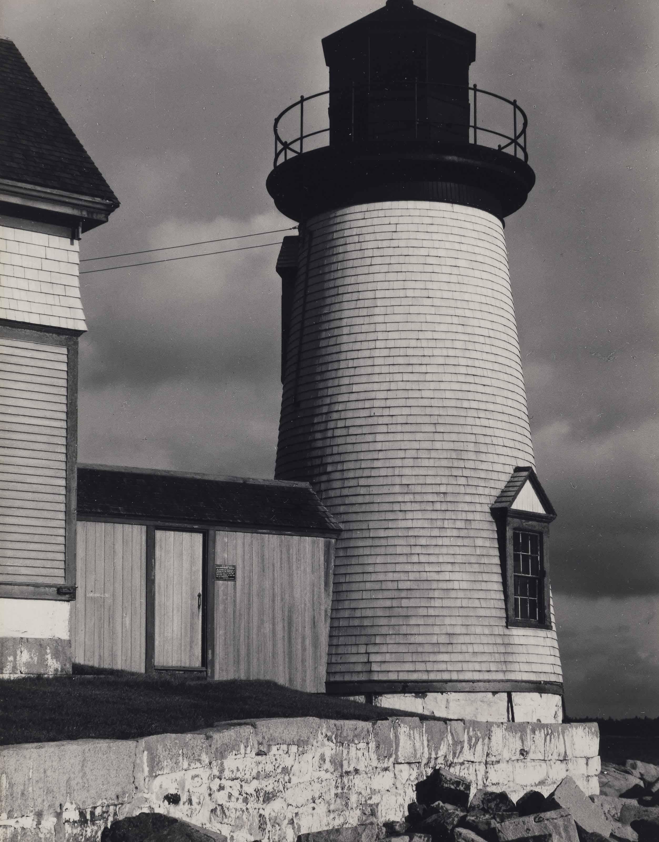 The Lighthouse, Prospect Harbor, Maine, 1945
