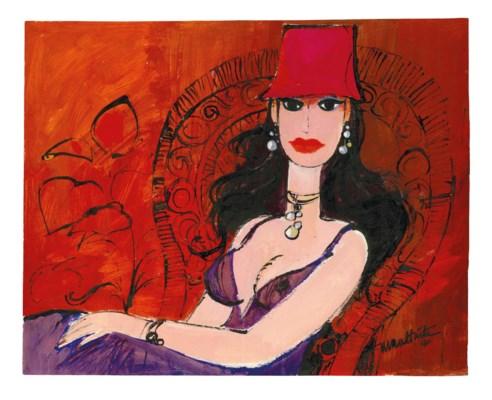 Illustration originale, La Fem
