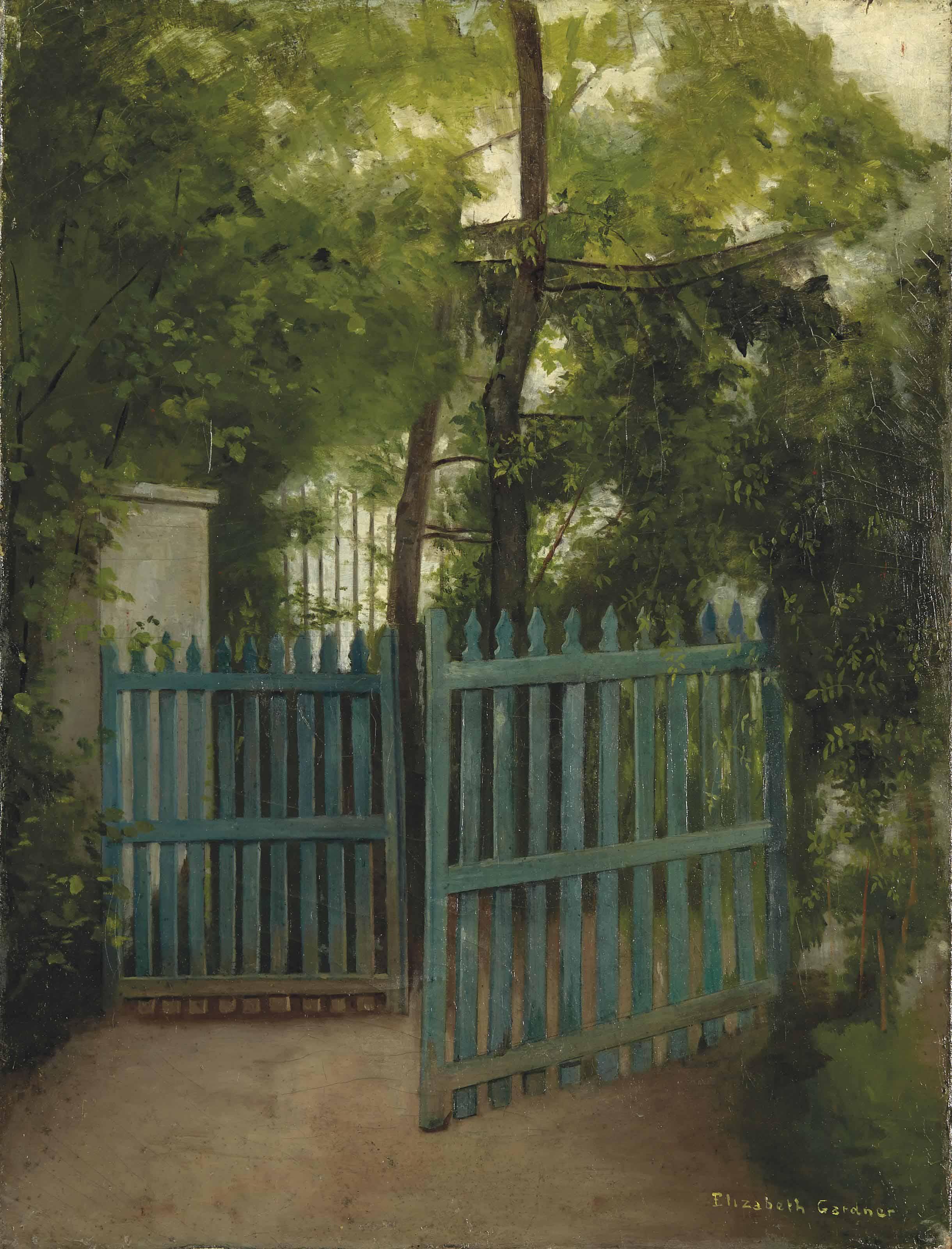 La grille du jardin