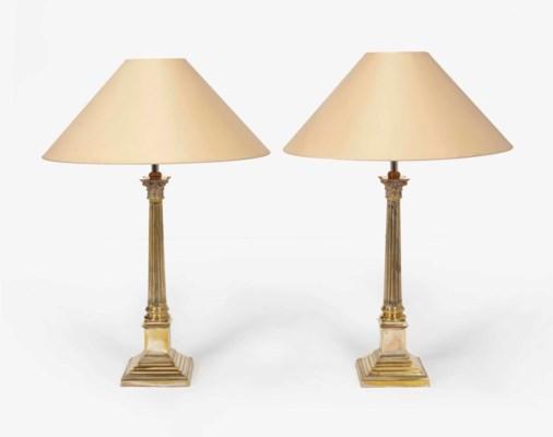 PAIRE DE LAMPES DE STYLE LOUIS