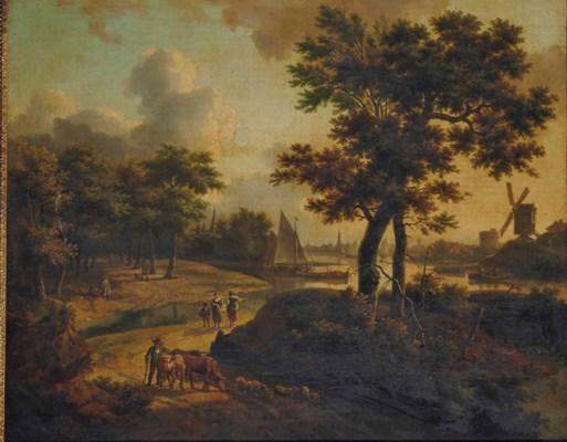 ÉCOLE HOLLANDAISE VERS 1780