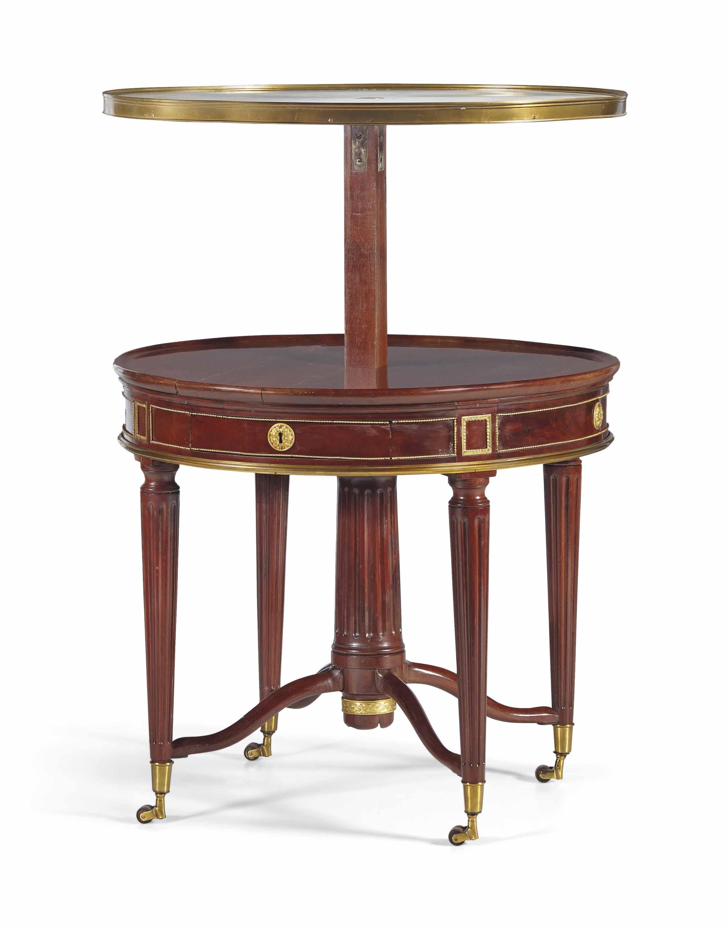 TABLE A MECANISME D'EPOQUE LOUIS XVI