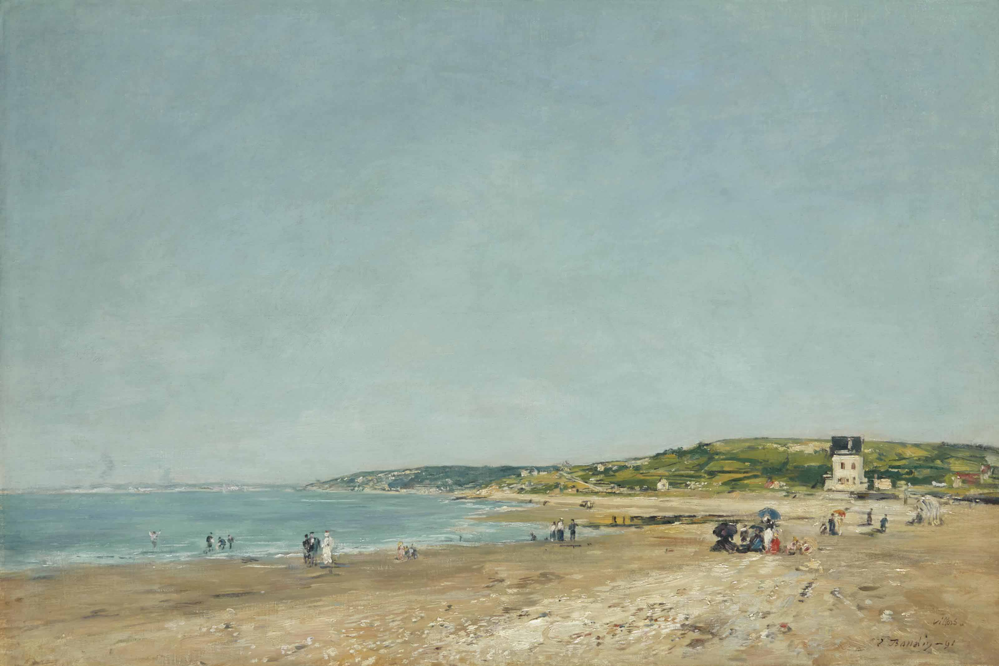 La plage de Villers