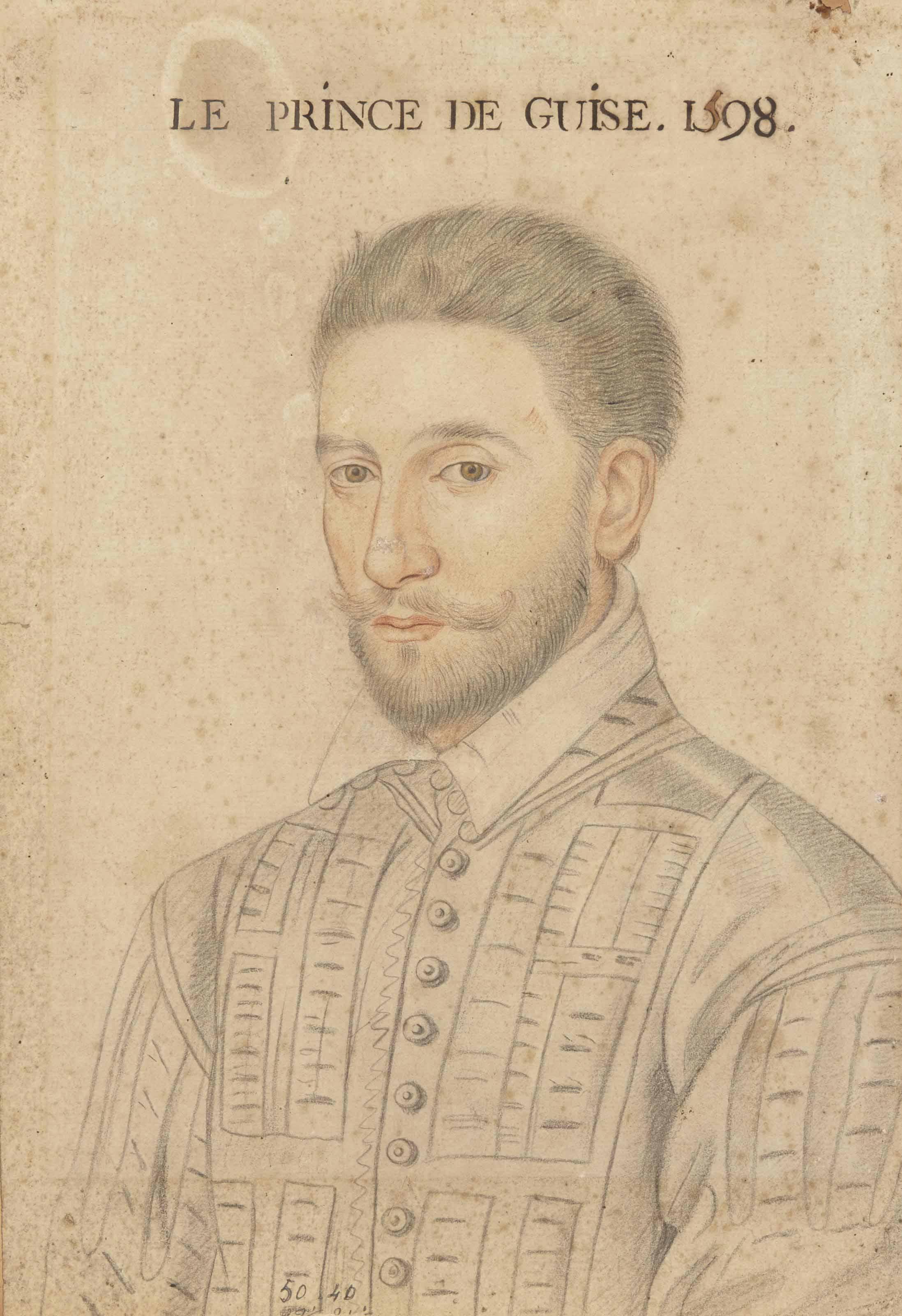 Portrait du Prince de Guise