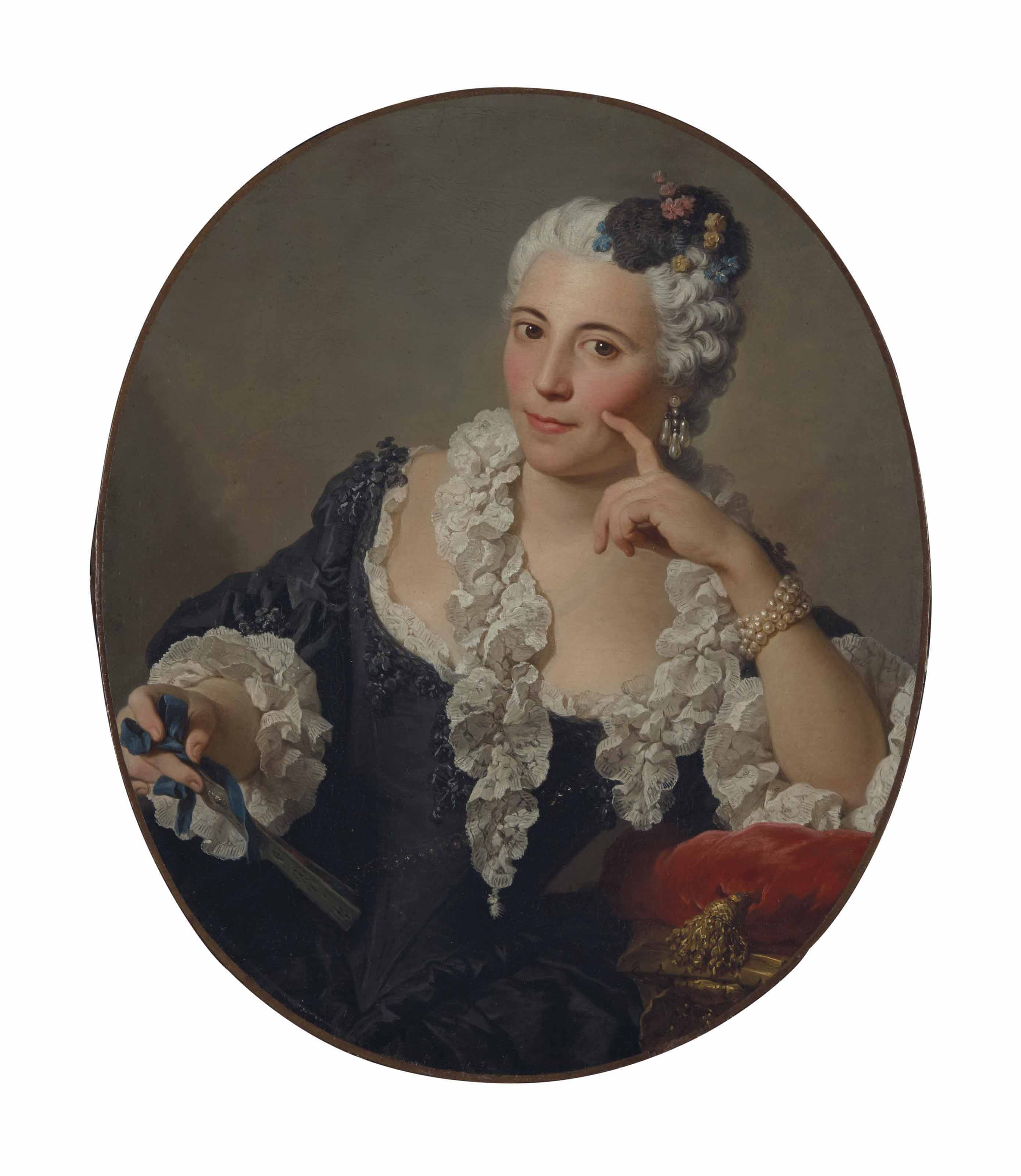 Portrait d'Anne-Marie Zina Durand de Lironcourt