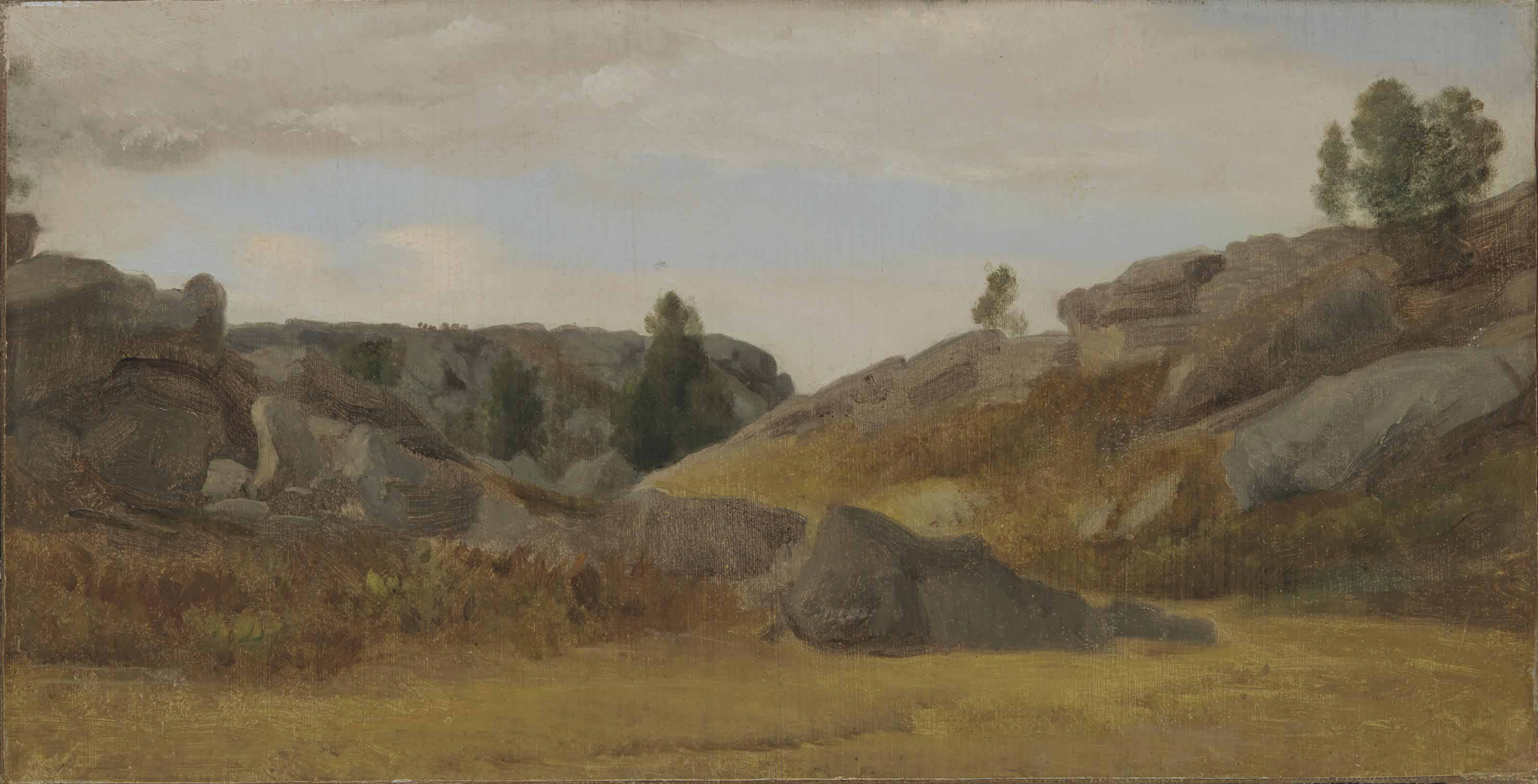 Vue de Fontainebleau