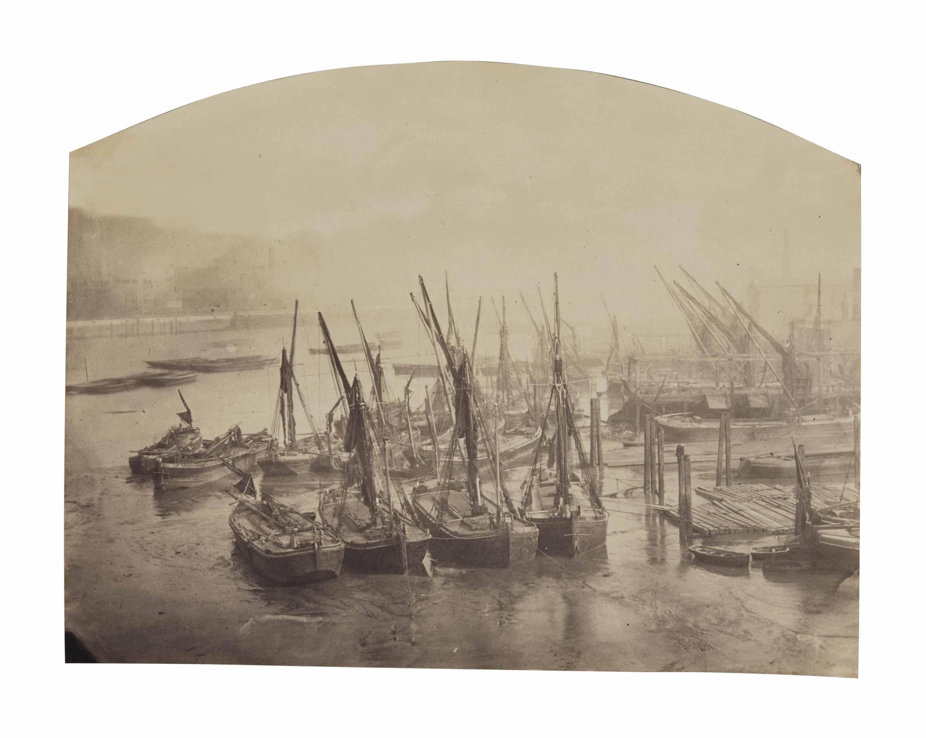 Londres : vues de la Tamise, c. 1870