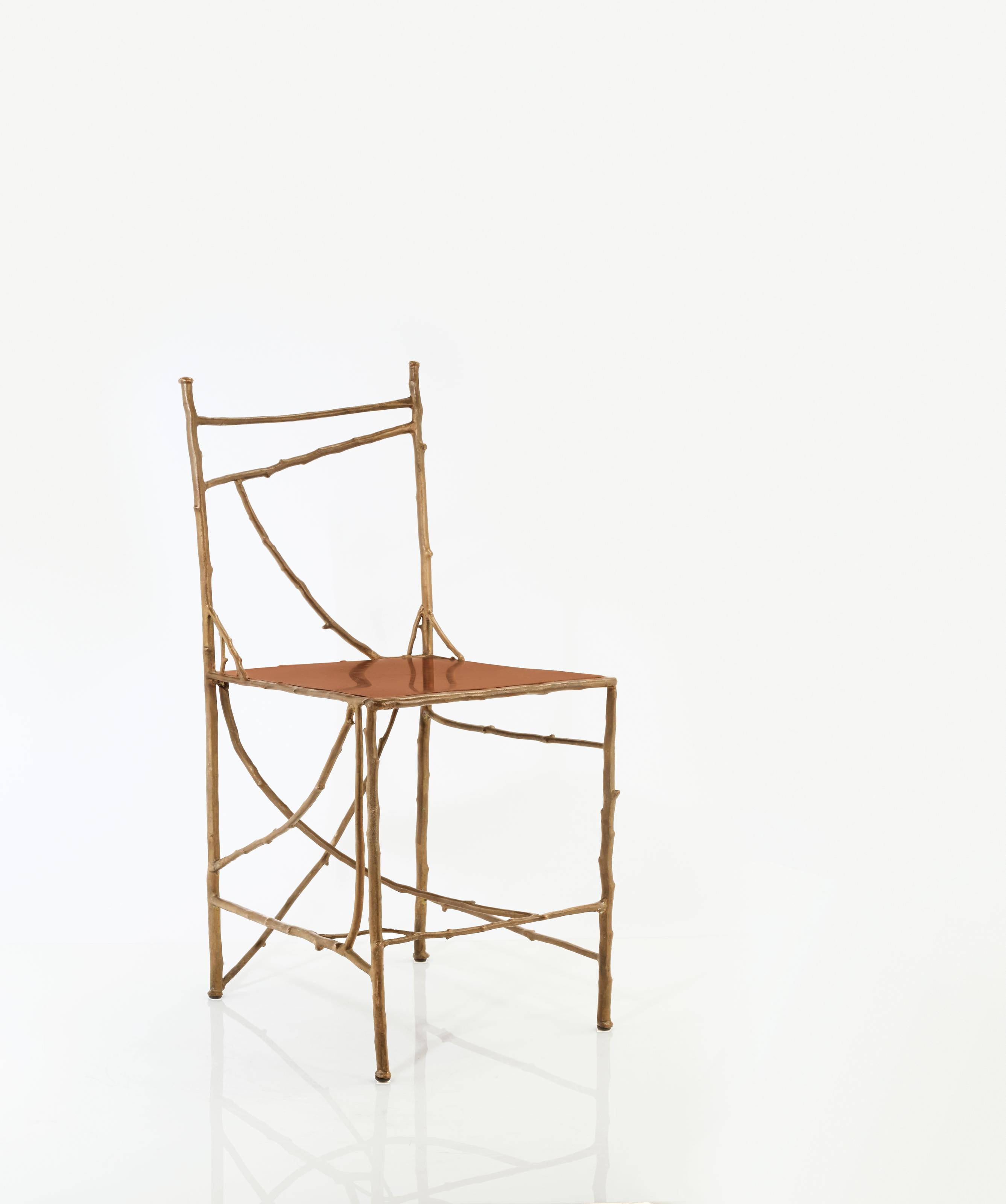 Claude lalanne n e en 1925 chaise aux branchettes le for Modele chaise