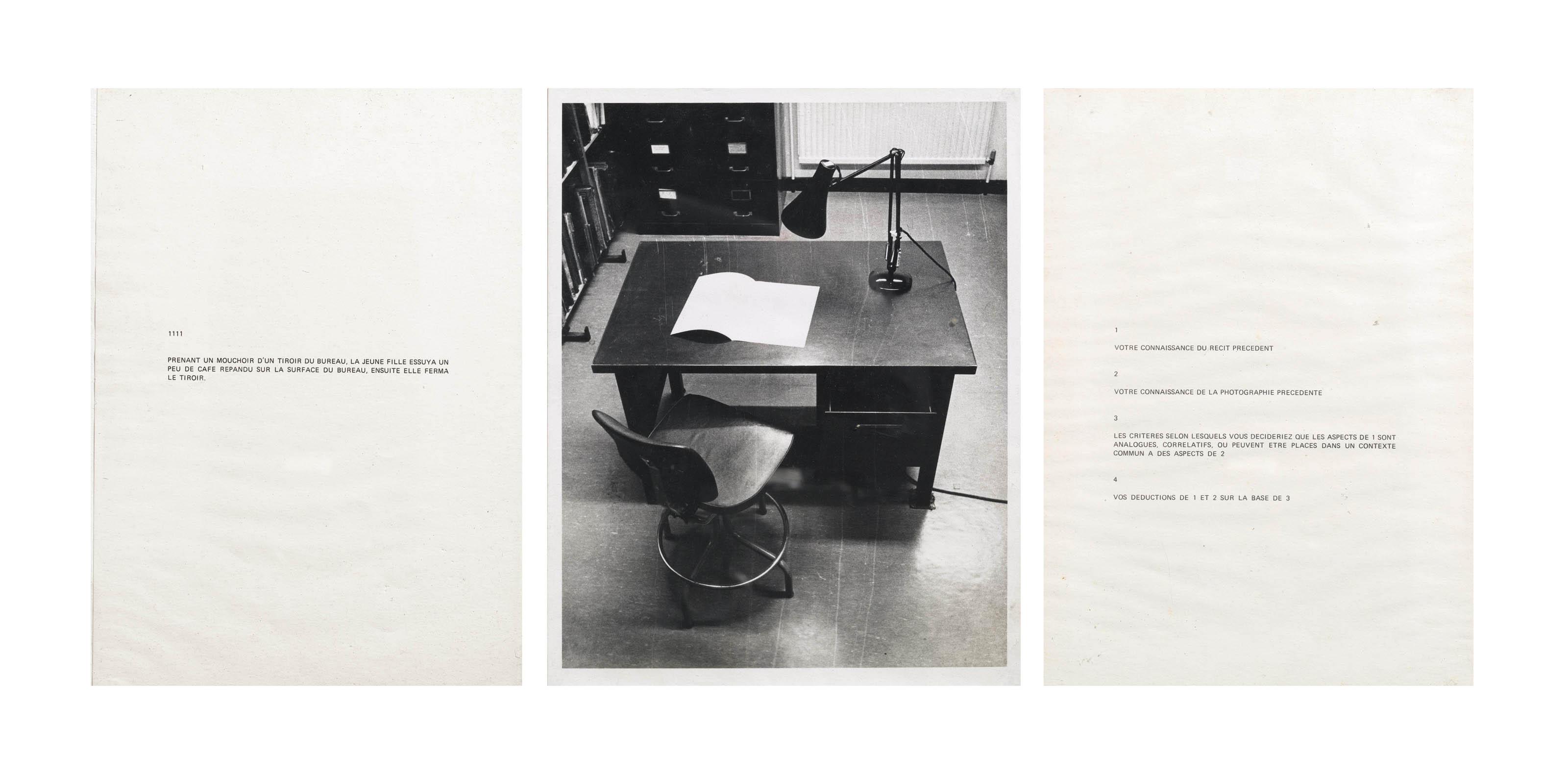 Performative / Narrative (le bureau)