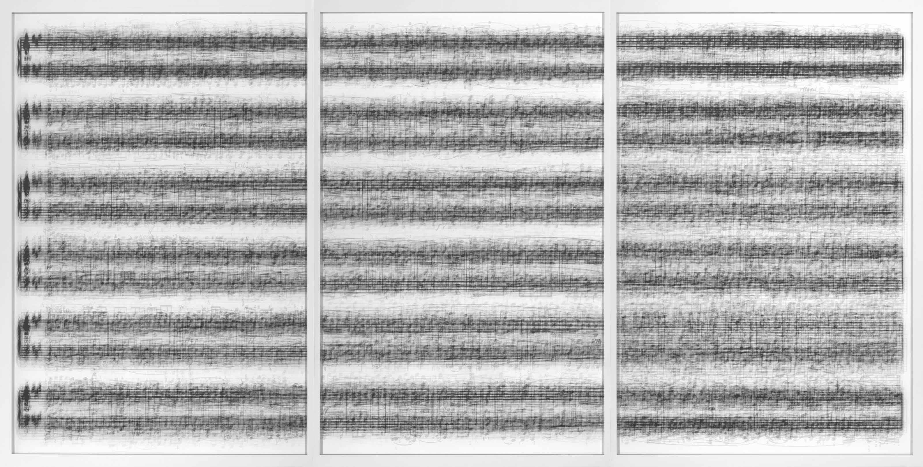 A.D.959, B.D.960, C.D.958…after Franz Schubert, 2007