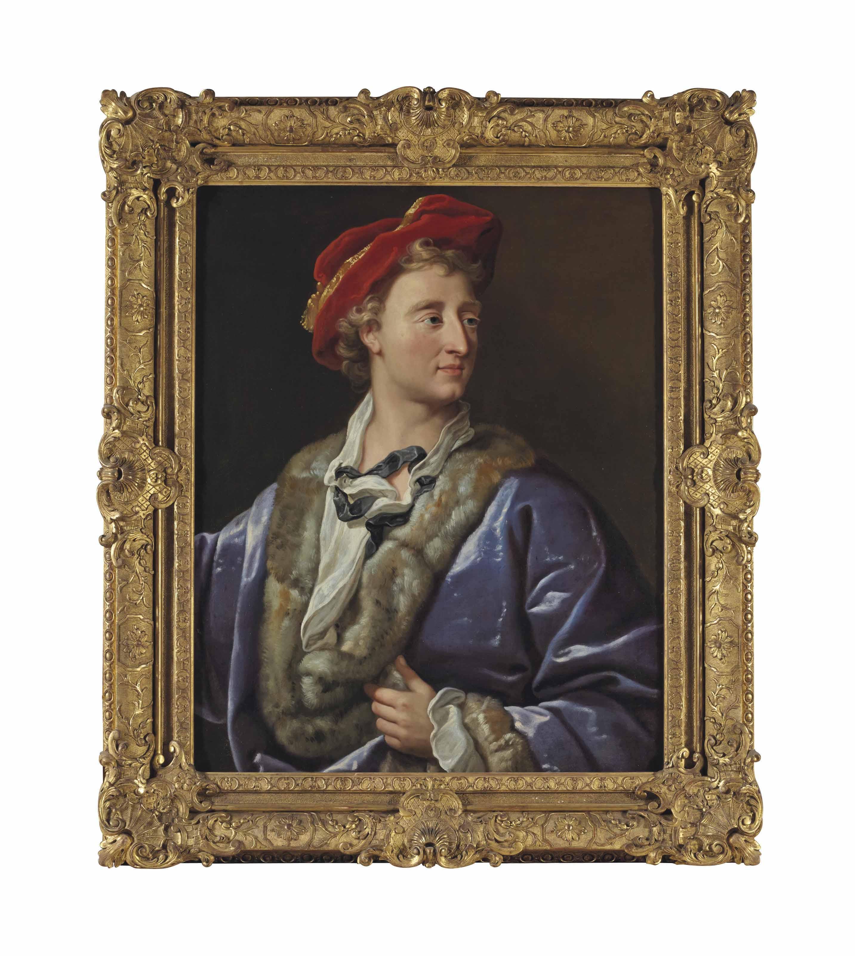 Portrait présumé d'artiste