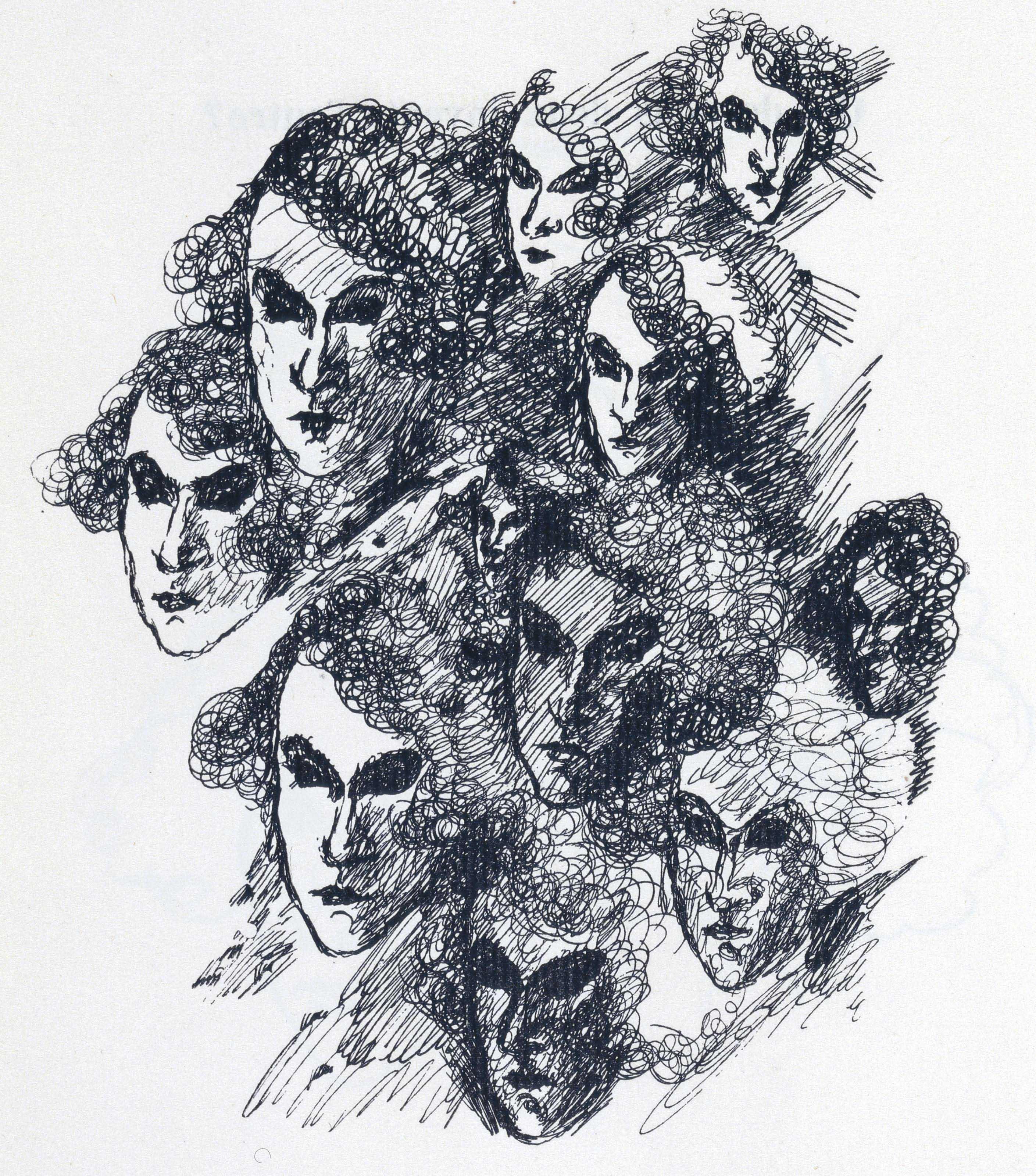 [ERNST] – [Paul ÉLUARD (1895-1952)]. Au défaut du silence. S. l. [Paris]: s. d. [1925]. In-4 (285 x 228 mm). 20 reproductions à pleine page de dessins de Max Ernst. Reliure signée A. Lobstein, bradel plein parchemin à dos muet, couverture et dos conservés. Sur le premier plat, un DESSIN ORIGINAL DE MAX ERNST SIGNÉ représentant Paul Éluard et Gala en 1926 (74 x 122 mm) au crayon, exécuté sur la partie intérieure d'un paquet de cigarettes déplié. Il est bordé d'un listel de veau brun et protégé sous film plastique. Tête dorée, étui.