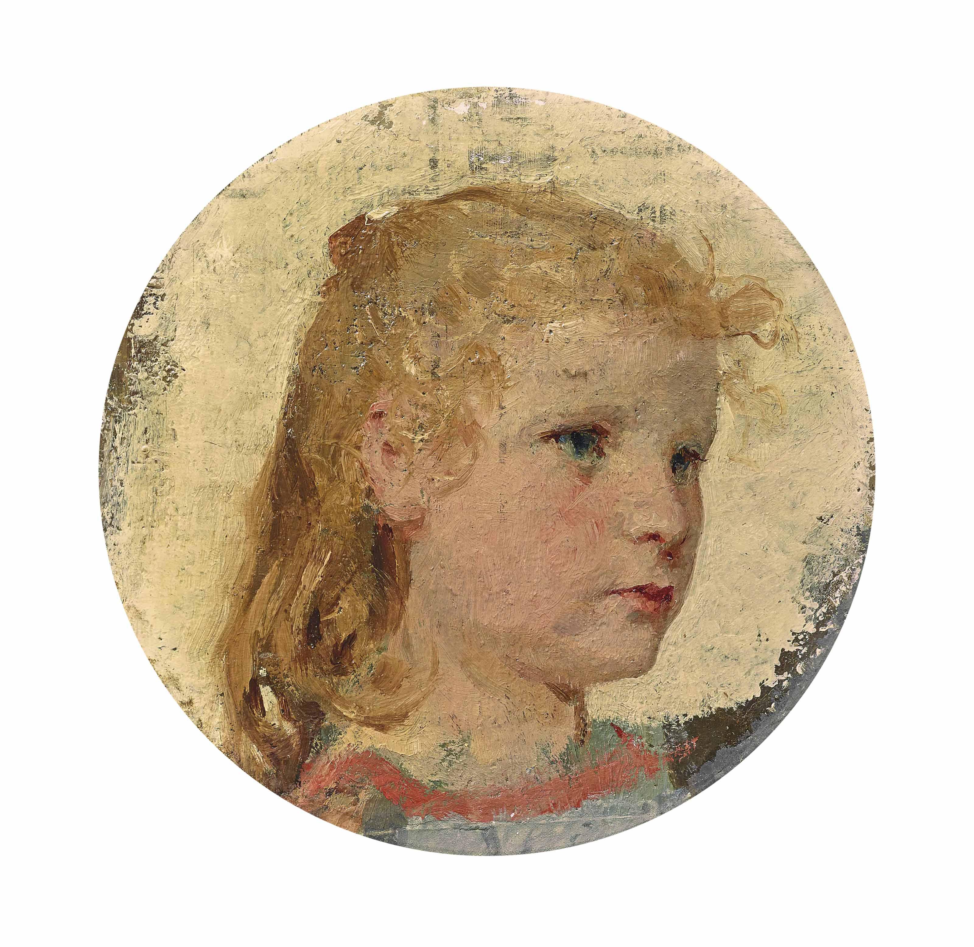 Mädchenkopf