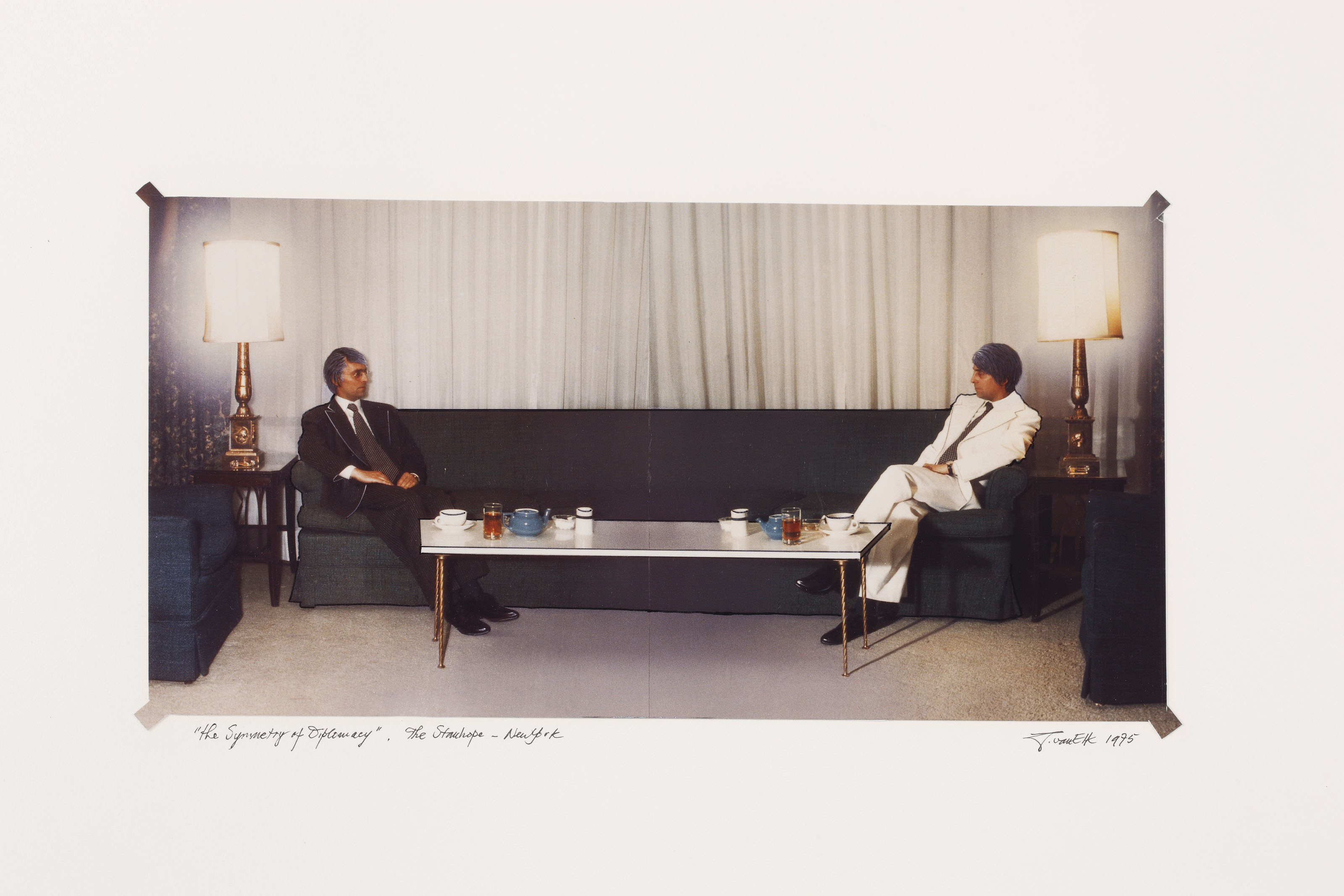''The Symmetry of Diplomacy.'' The Stanhope - New York