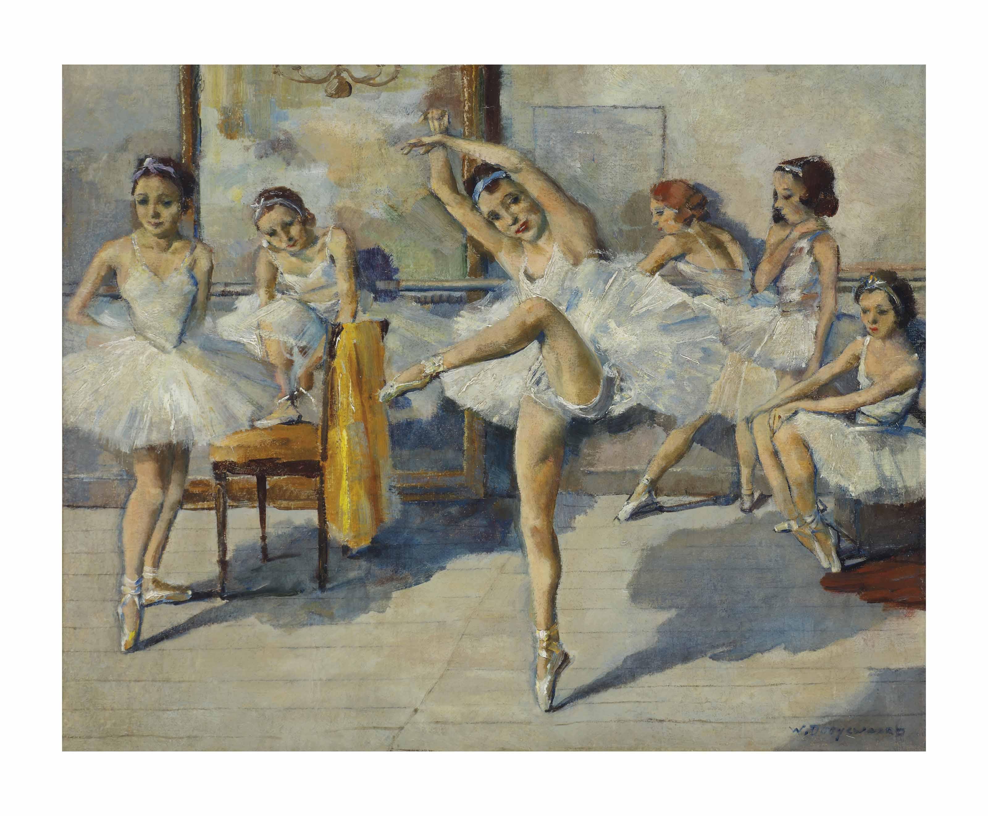 A ballet school in Nice