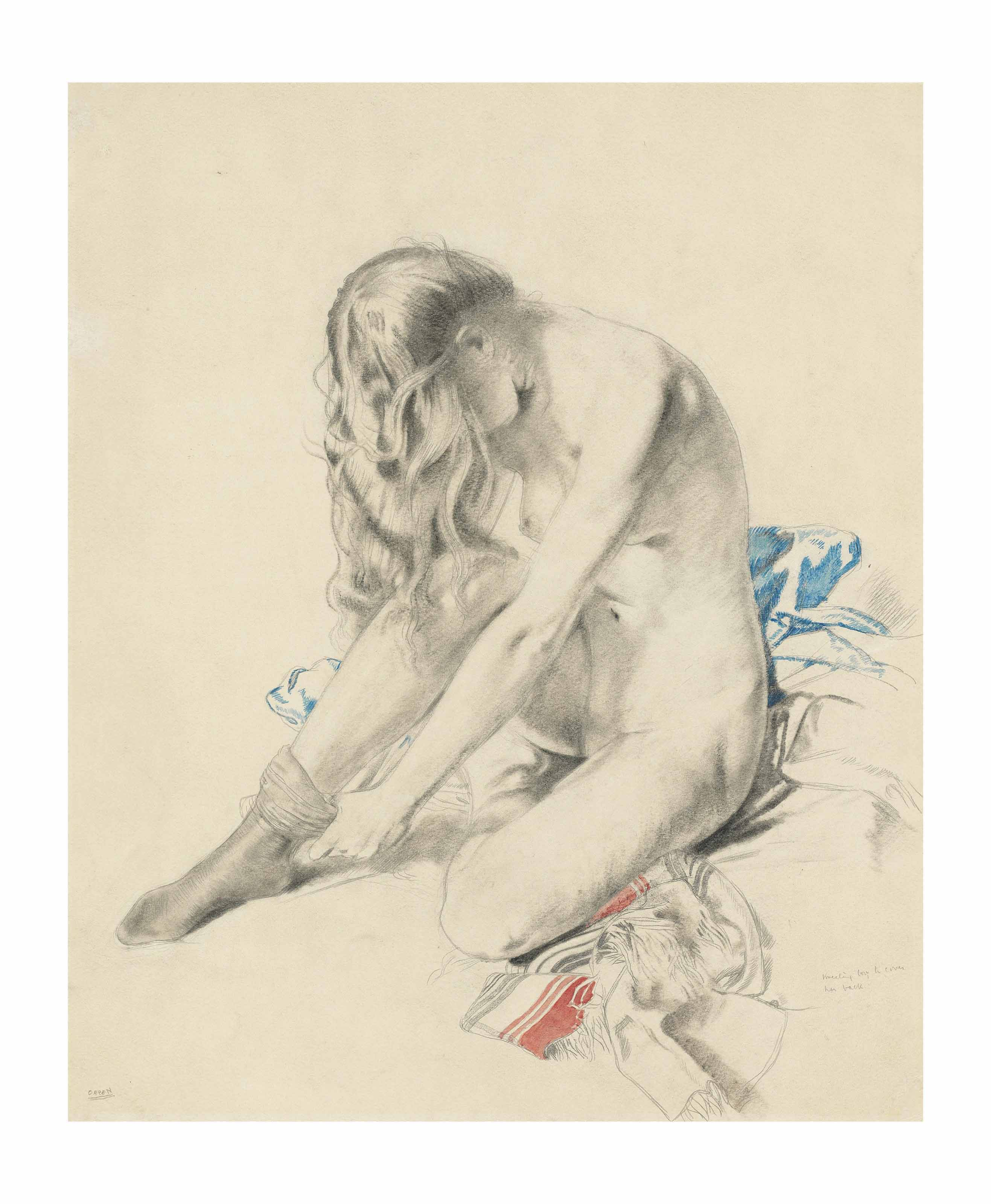 Study for Nude Pattern, The Holy Well
