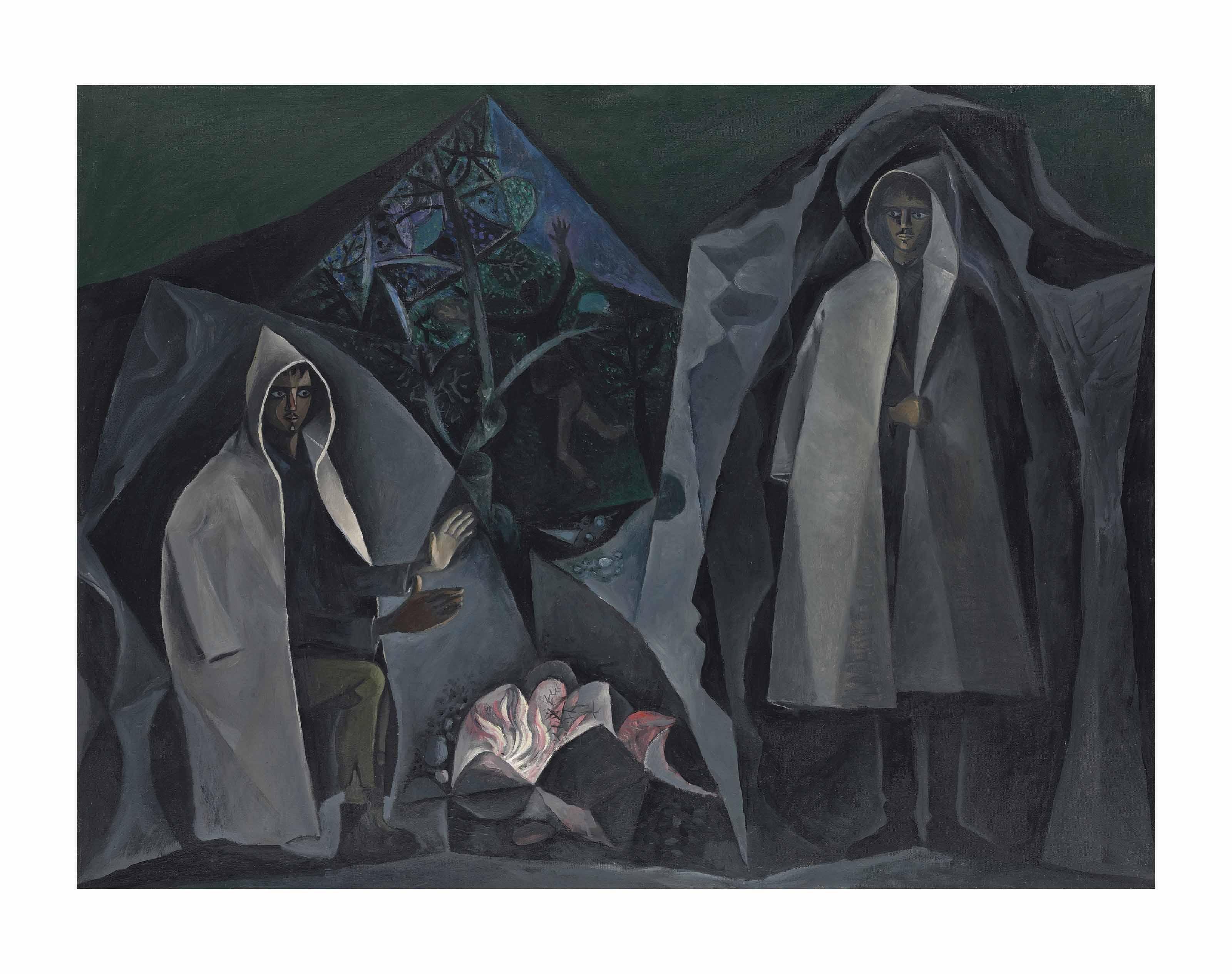Shepherds at Night